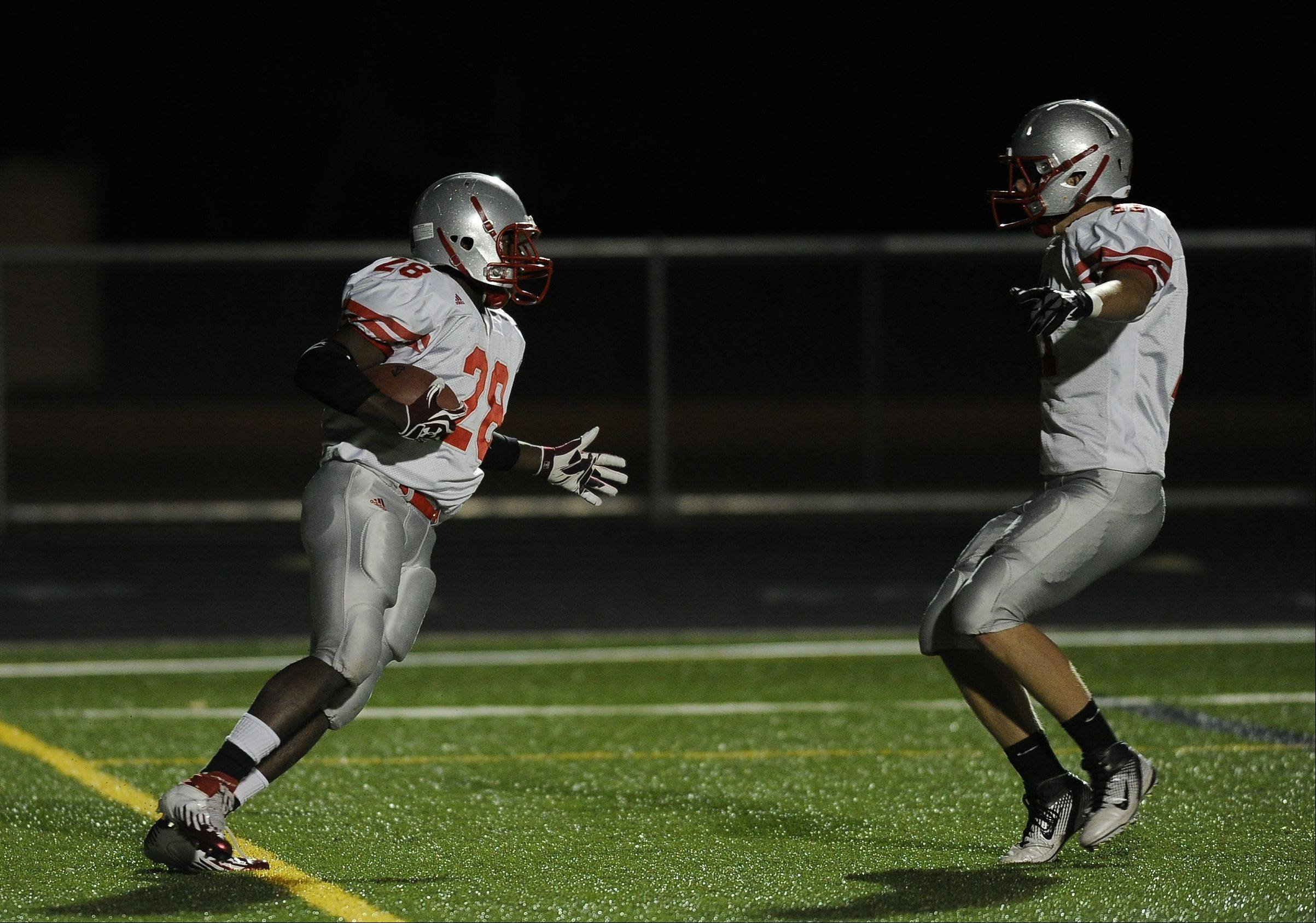 Week -7- Photos from the Conant vs. Palatine football game Friday, October 5th in Hoffman Estates