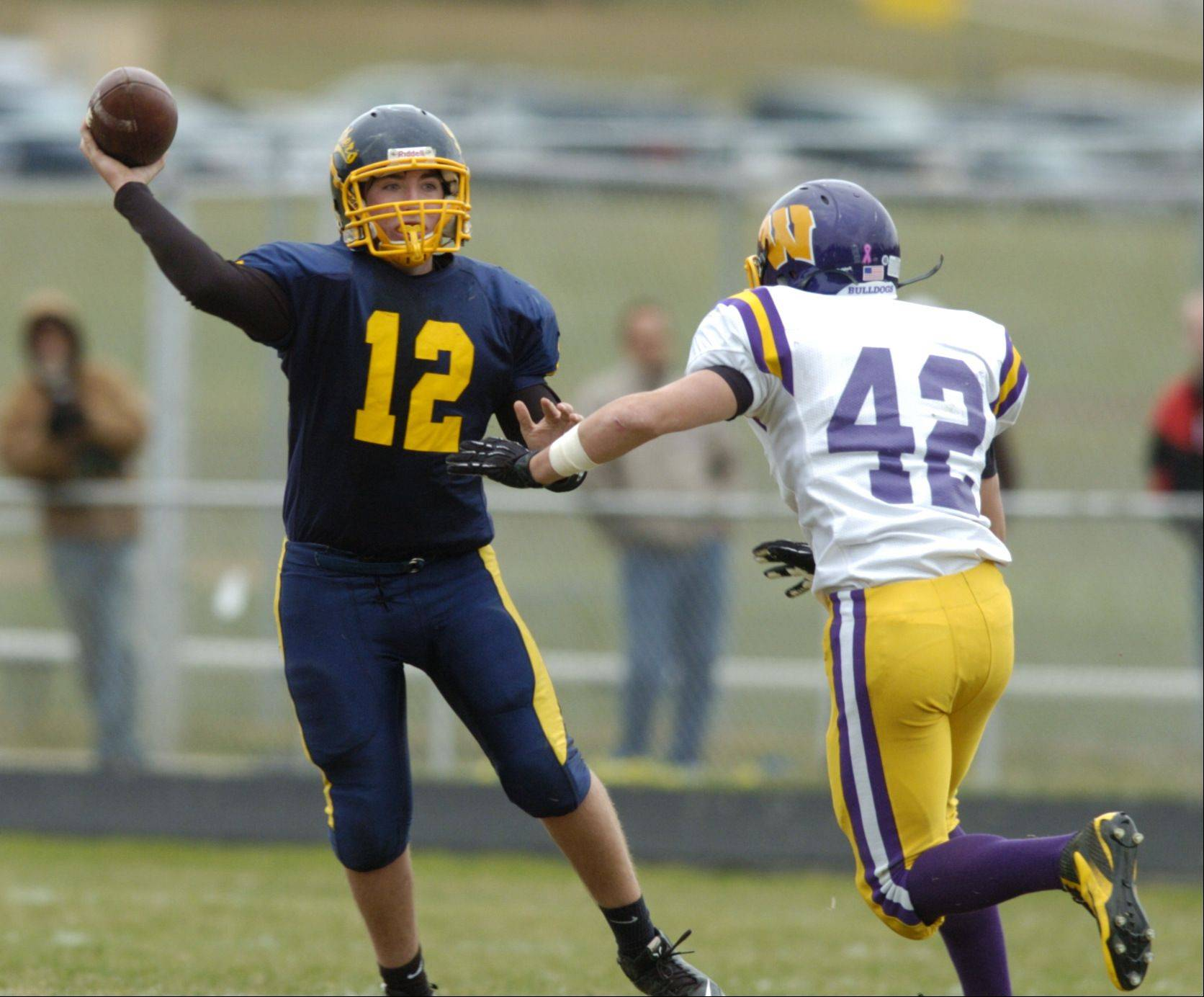 Week -7- Photos from the Wauconda at Round Lake football game on Saturday, Oct. 6.