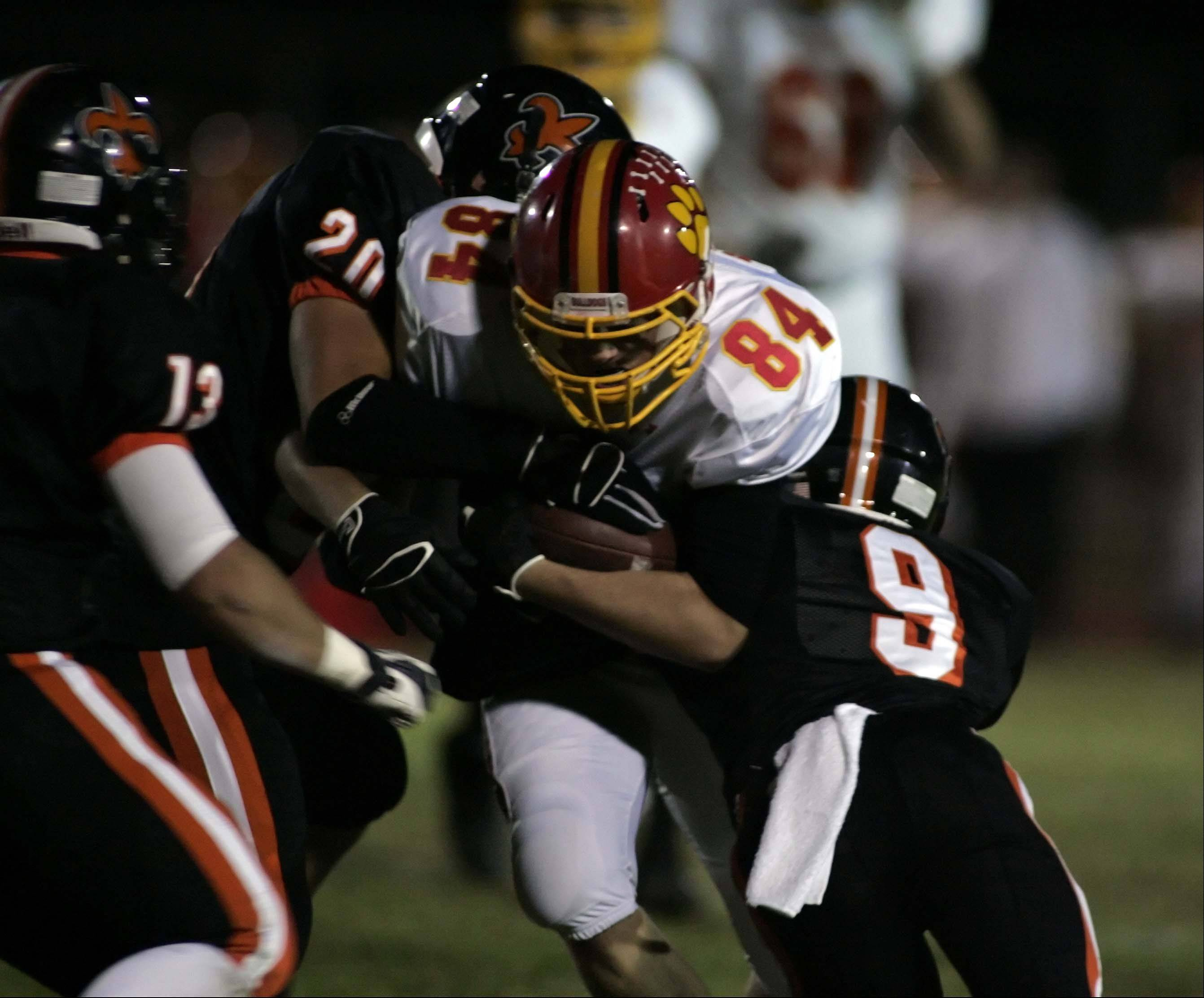 Week 8 - Images from the Batavia vs. St. Charles East football game Friday, October 12, 2012.