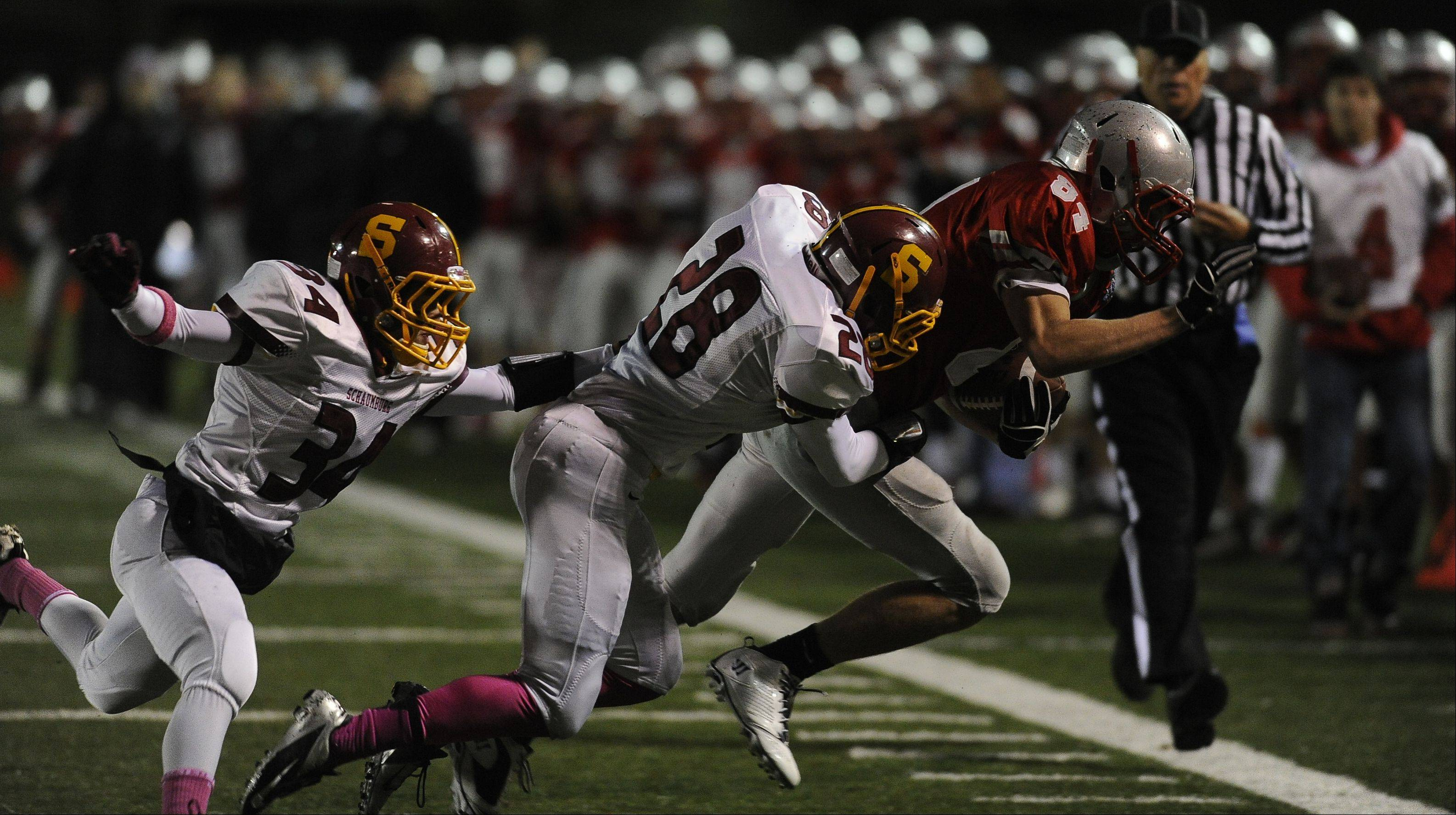 Week -9- Photos from the Schaumburg vs. Palatine football game on Friday, October 19th, at Palatine High School