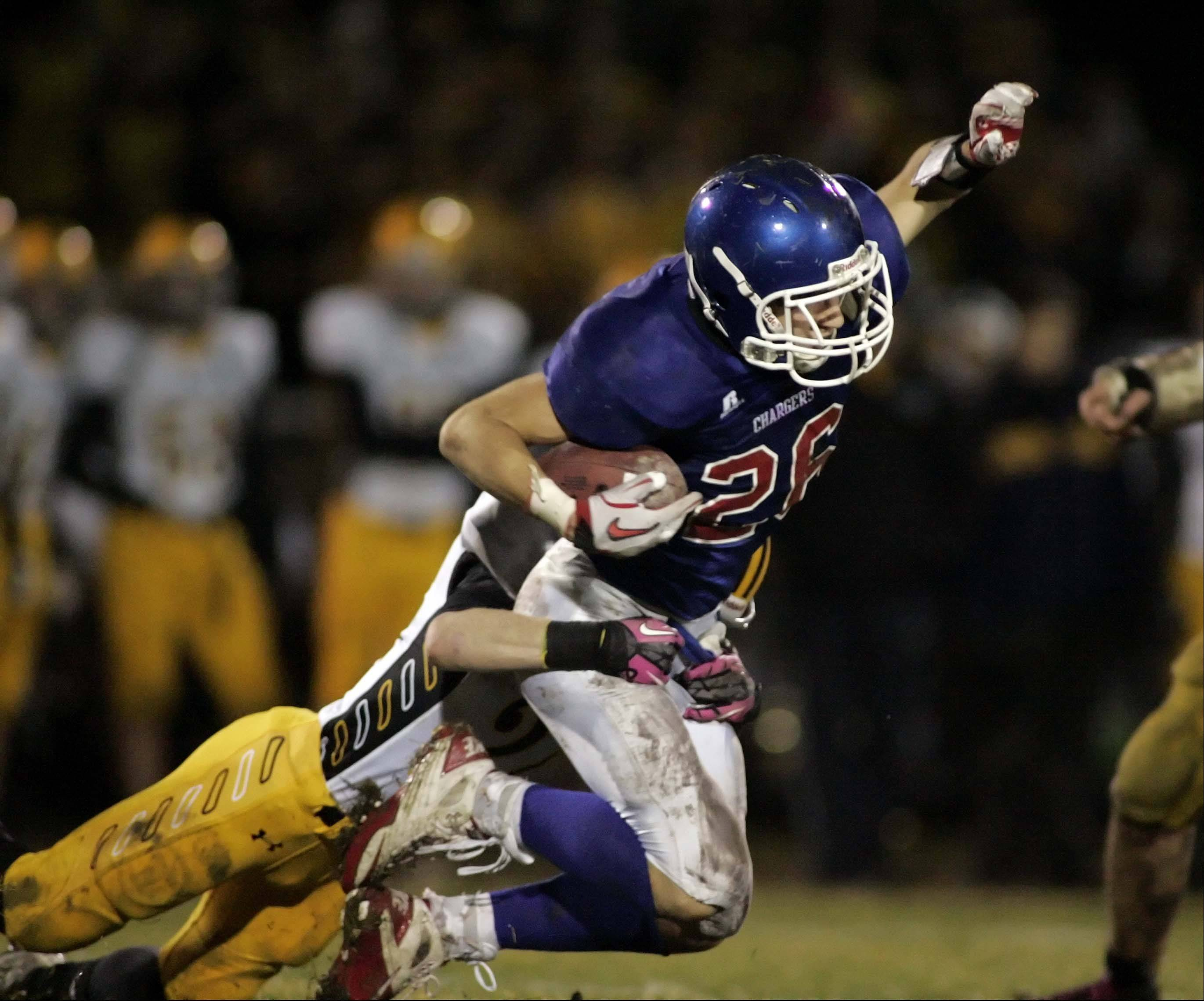 Week Nine - Images from the Jacobs vs. Dundee-Crown football game Friday, October 19, 2012.