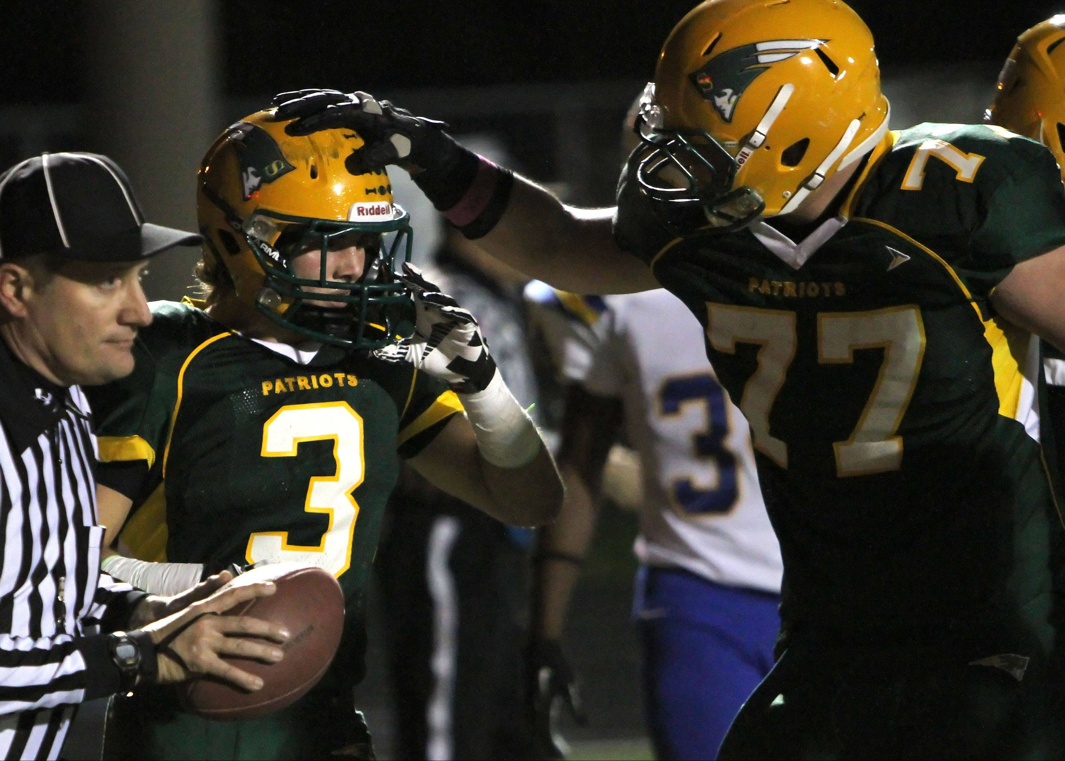 Bozin, Stevenson bowl over Warren