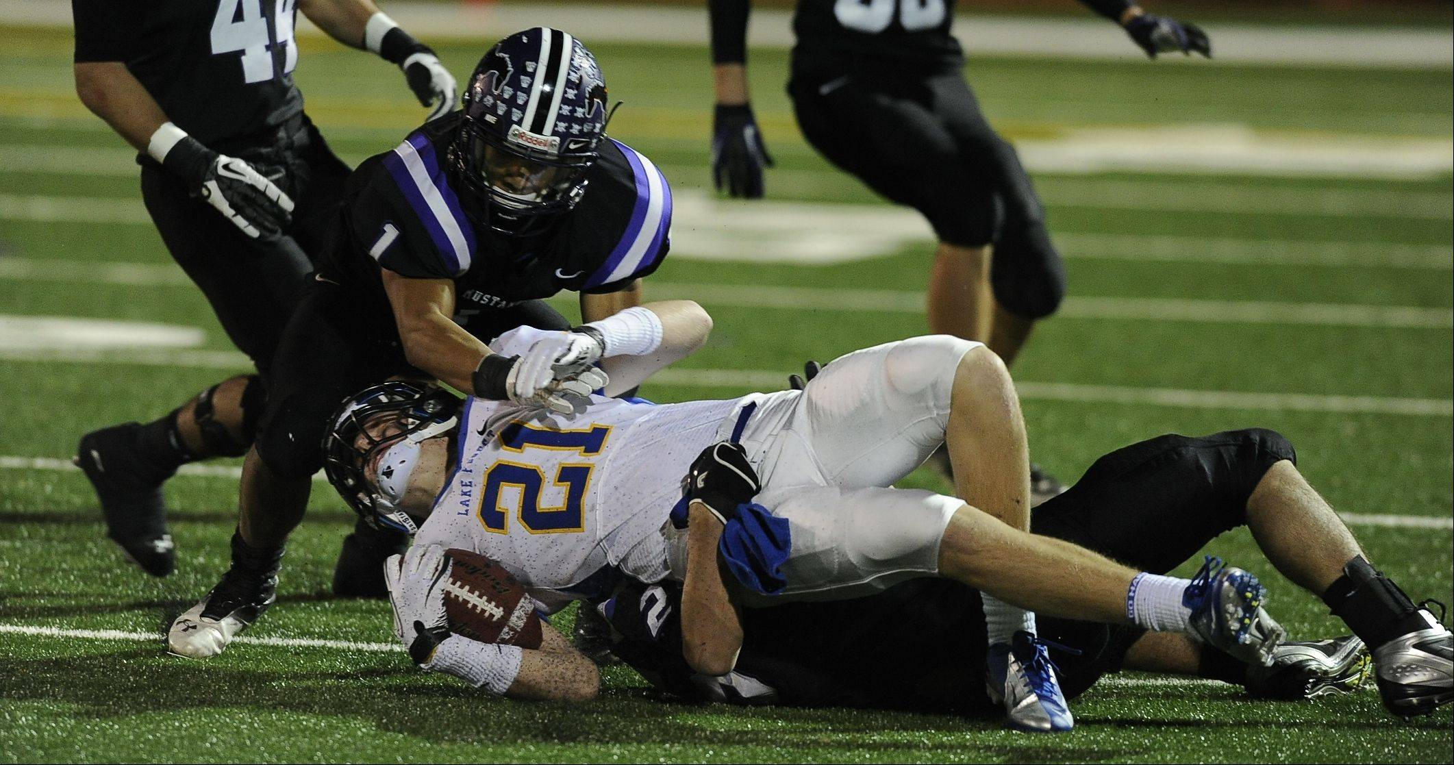 Playoffs-Round One- Photos from the Rolling Meadows vs. Lake Forest football game on Friday, October 26th, in Rolling Meadows
