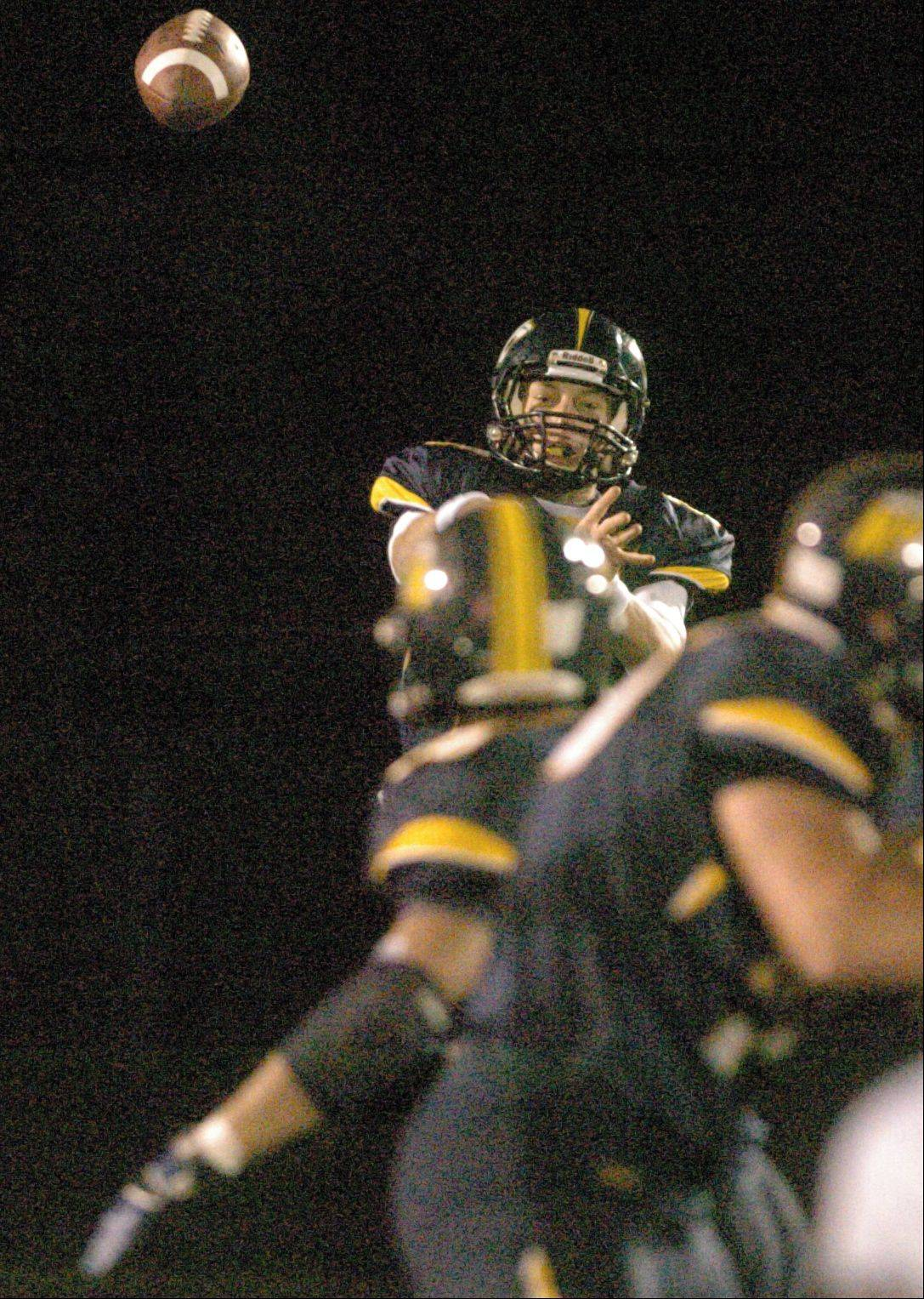 Neuqua Valley High School hosted Naperville North High School in Week 1 of the IHSA Class 8A football playoffs Friday night at Neuqua Valley High School in Naperville.