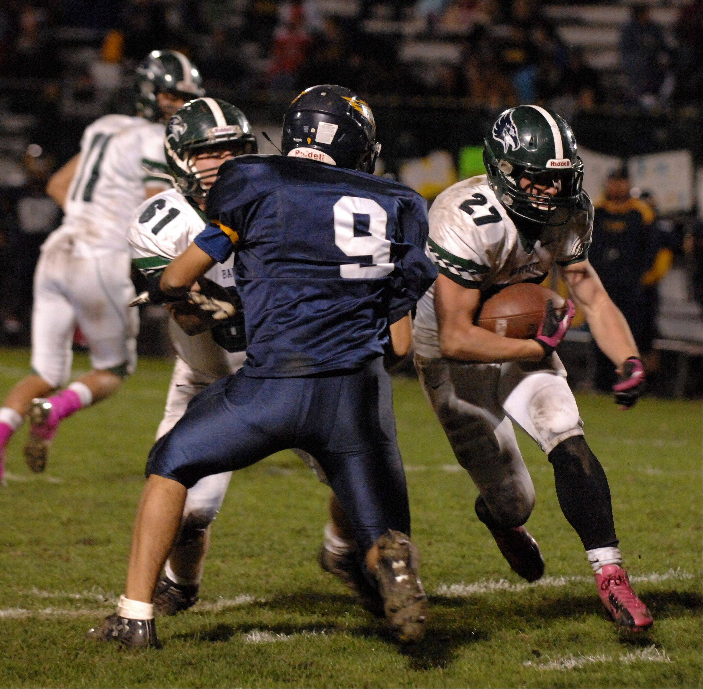 Playoffs - Round 1 - Images from the Bartlett vs. Leyden football game Friday, October 26, 2012.