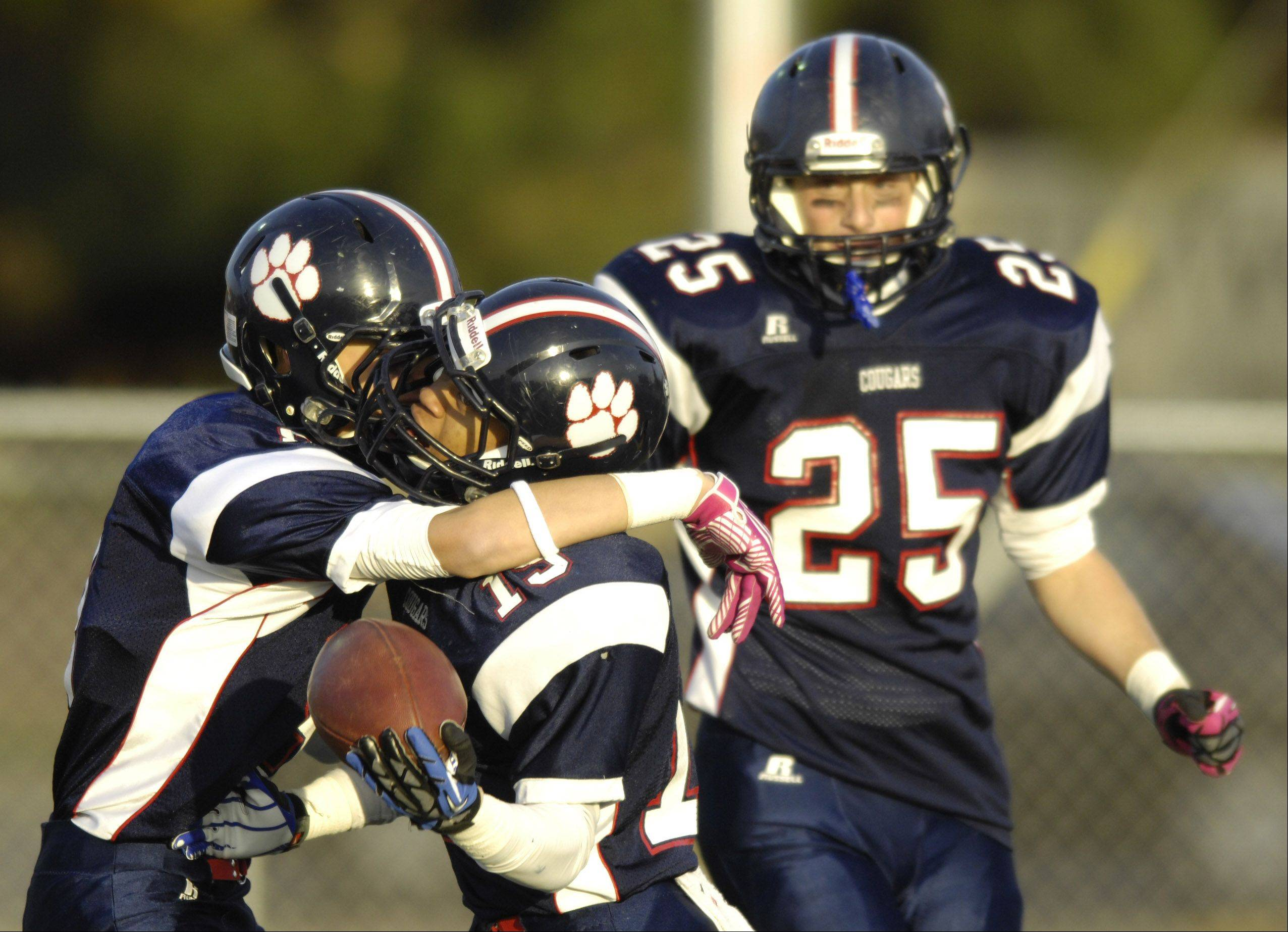 Images: Conant vs. New Trier football