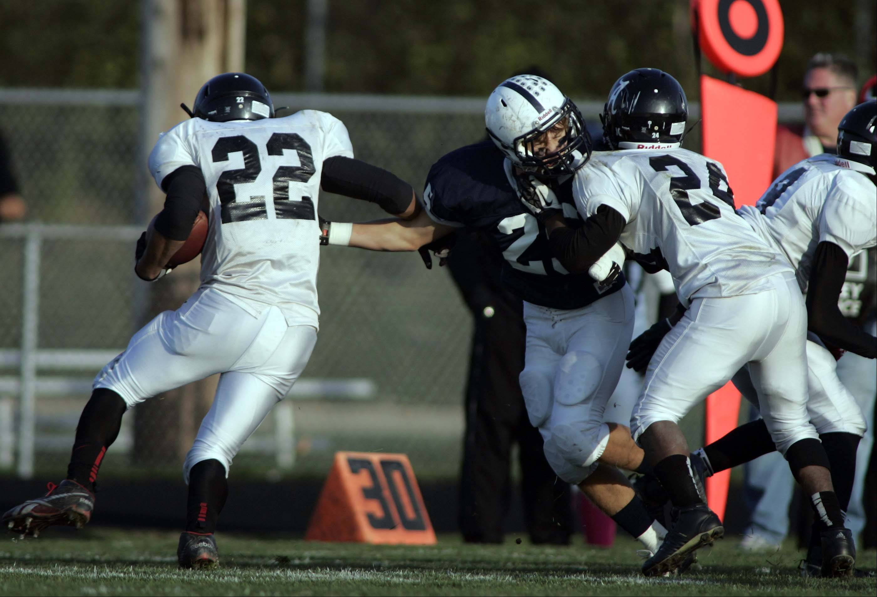 Playoffs - Round 1 - Images from the Cary-Grove vs. Rockford Auburn football game Saturday, October 27, 2012.