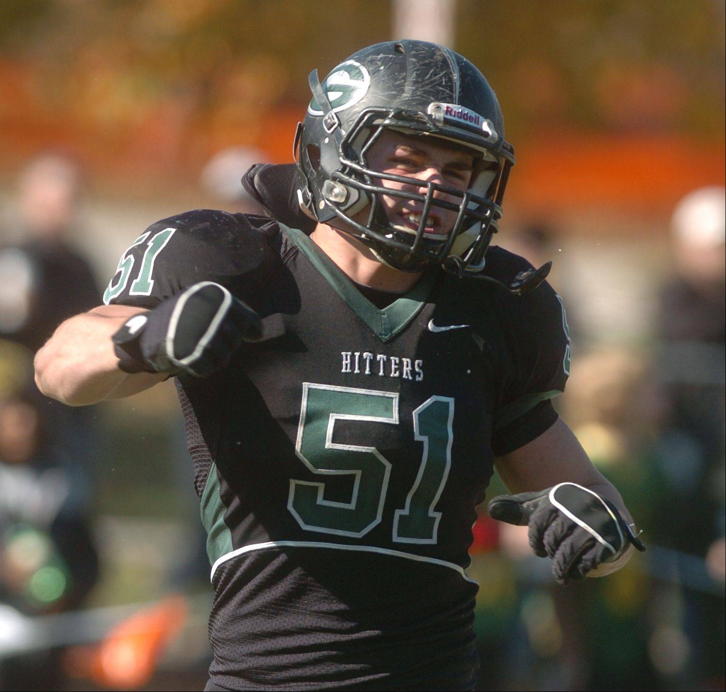 Glenbard West hosted Elk Grove High School in Week 1 of the IHSA Class 8A football playoffs Saturday afternoon at Glenbard West High School in Glen Ellyn.