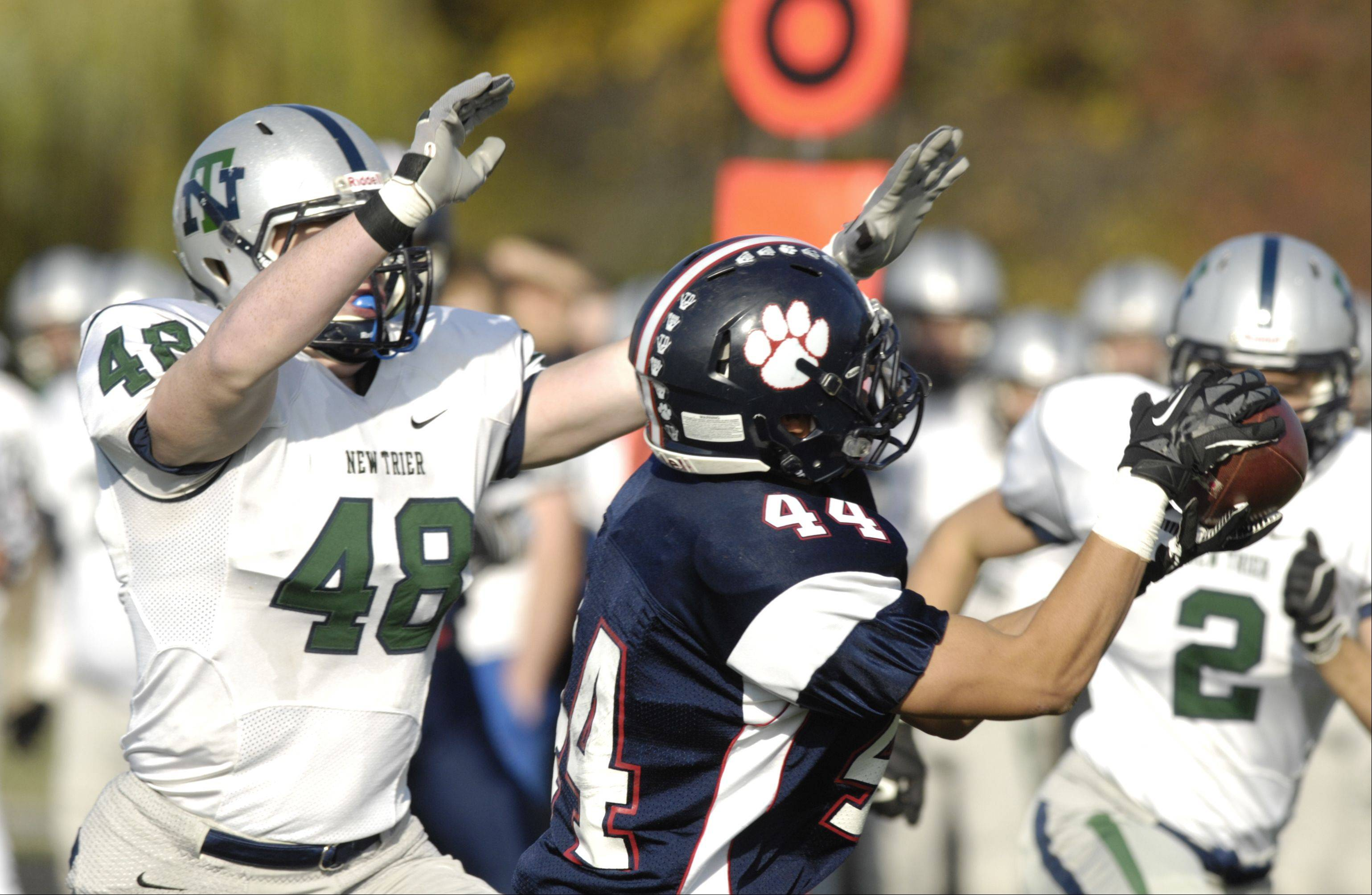 Playoffs-Round One- Photos from the Conant vs. New Trier football game on Saturday, October 27th, in Hoffman Estates.