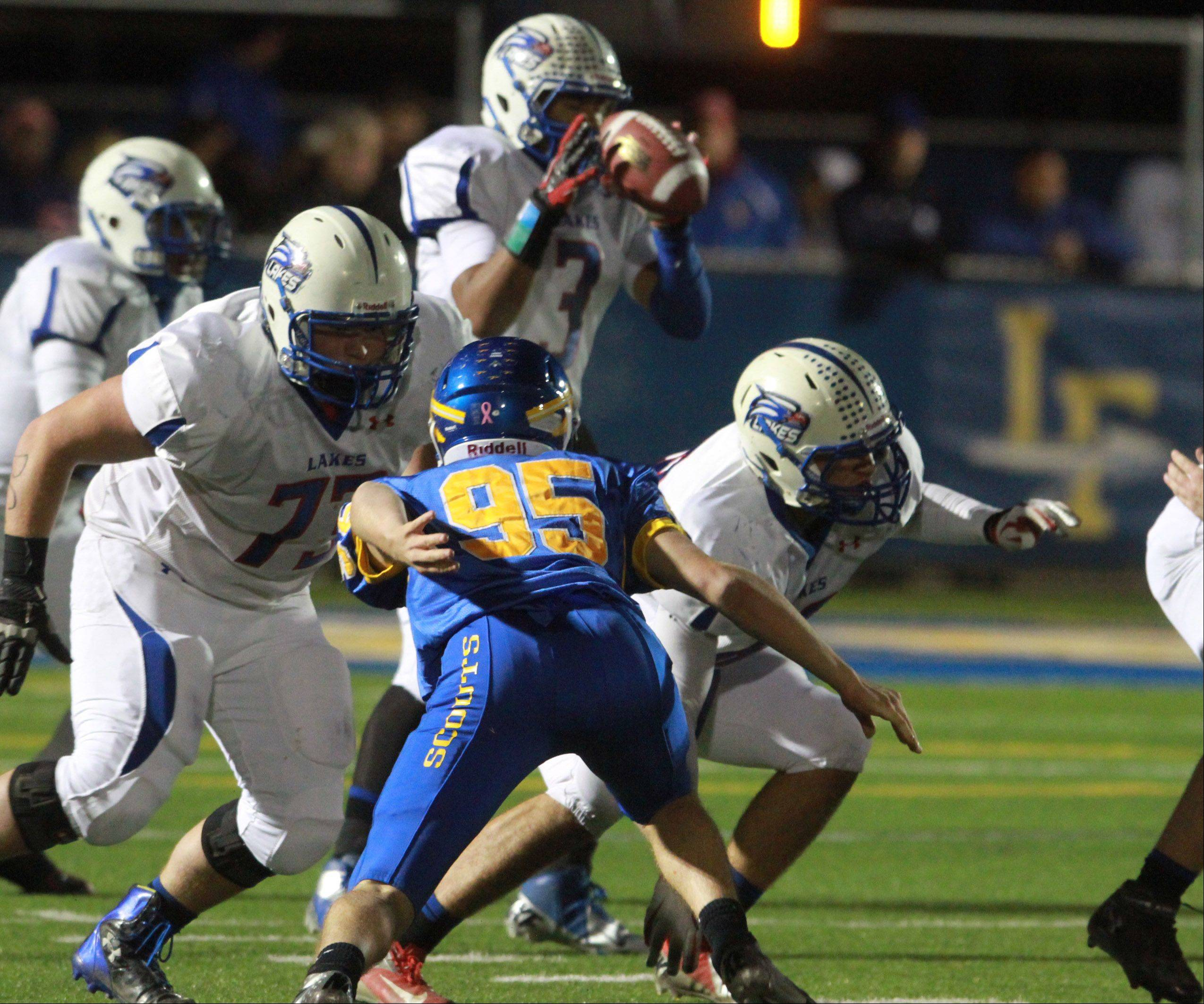 Playoffs -Round Two- Photos from the Lakes at Lake Forest football game on Friday, Nov. 2.