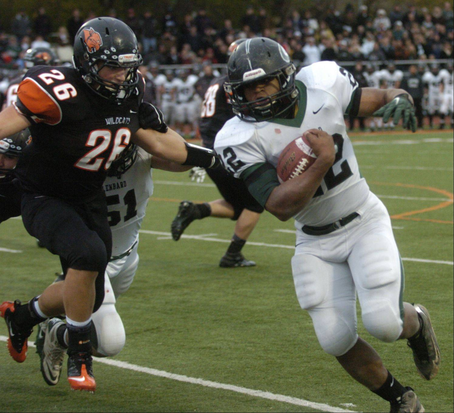 Playoffs - Round Two- Photos from the Glenbard West at Libertyville football game on Saturday, Nov. 3.