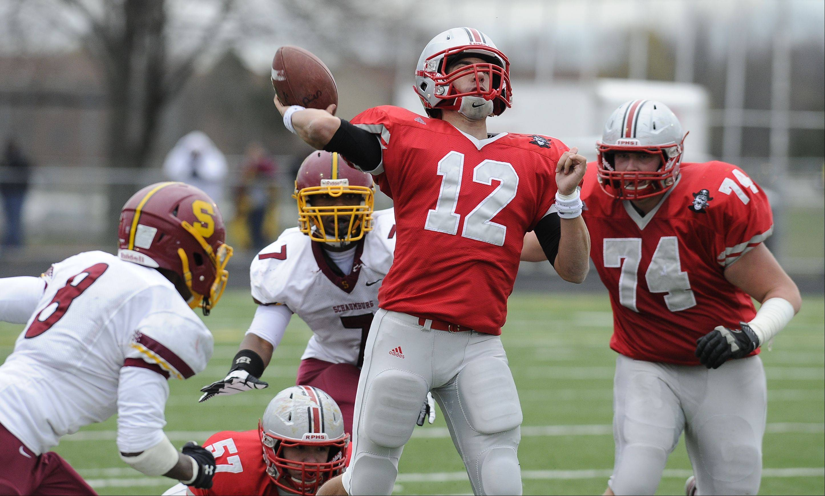 Playoffs-Round Two- Photos from the Palatine vs. Schaumburg football game on Saturday, November 3rd, in Palatine.
