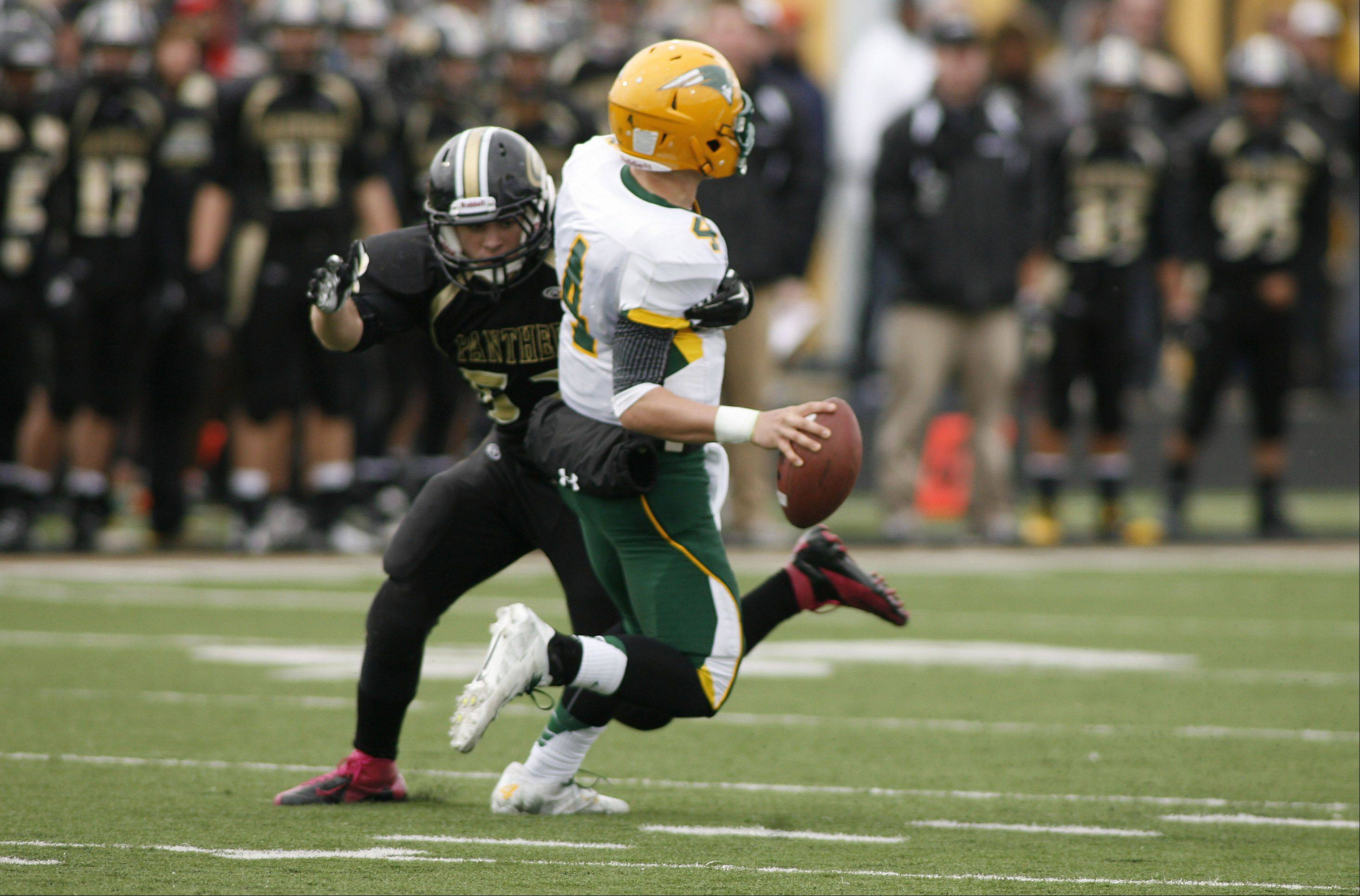 Glenbard North hosted Stevenson Saturday afternoon for IHSA round 2 playoff football in Carol Stream.