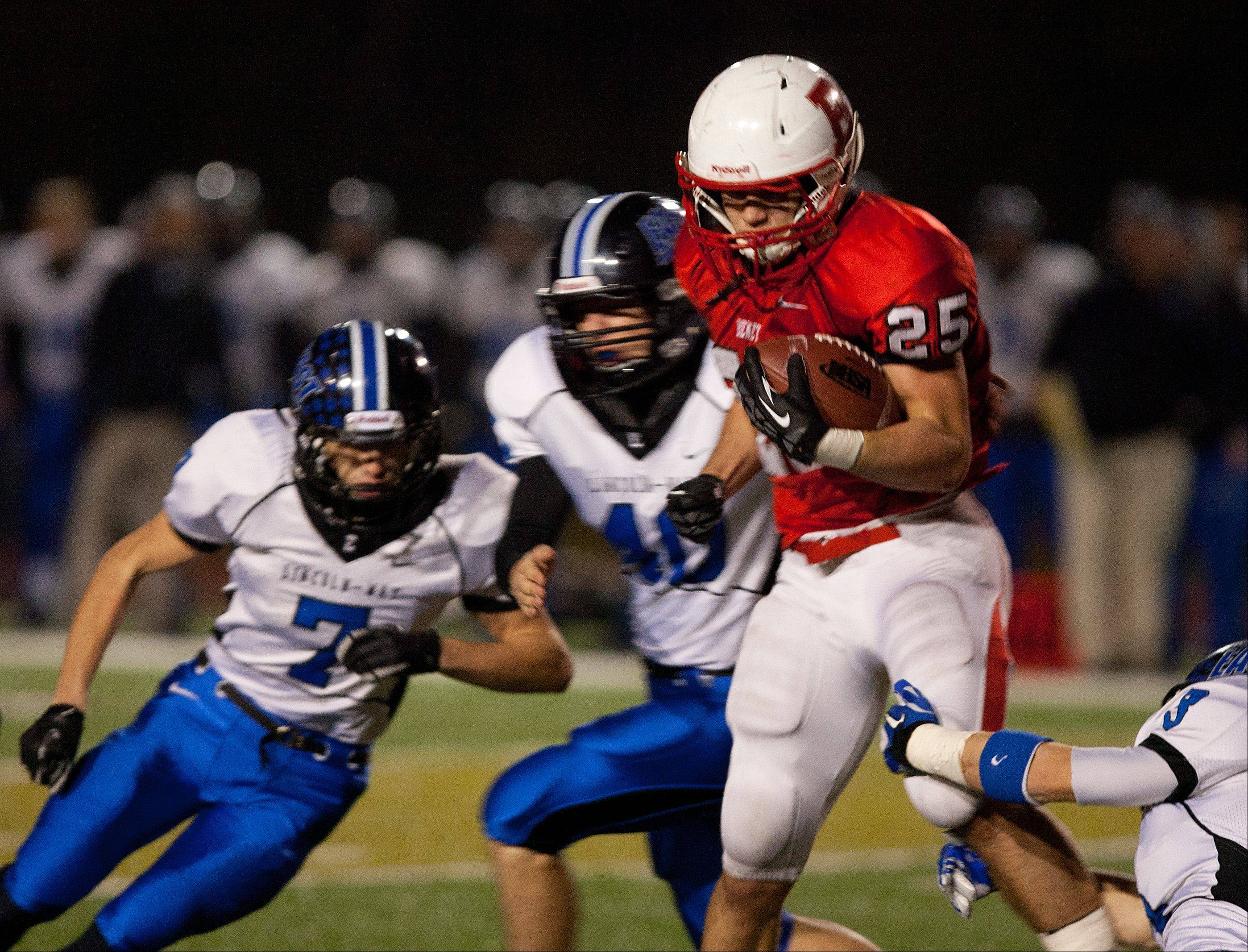 Images: Benet vs. Lincoln-Way East football