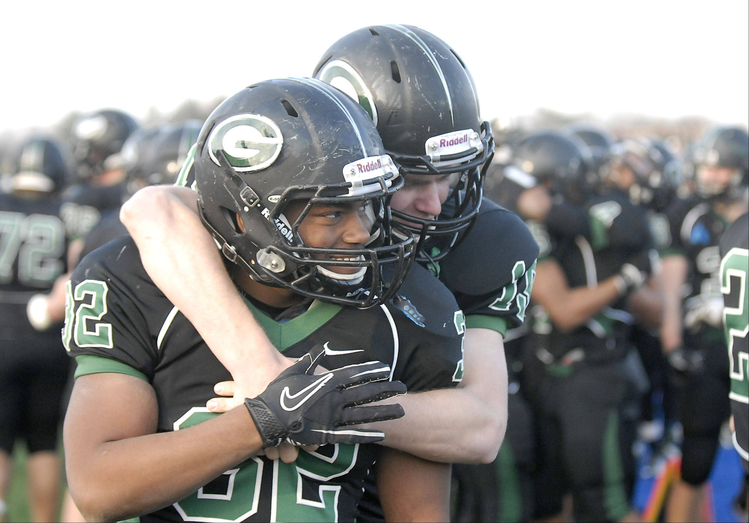 Images: Lake Zurich vs. Glenbard West football