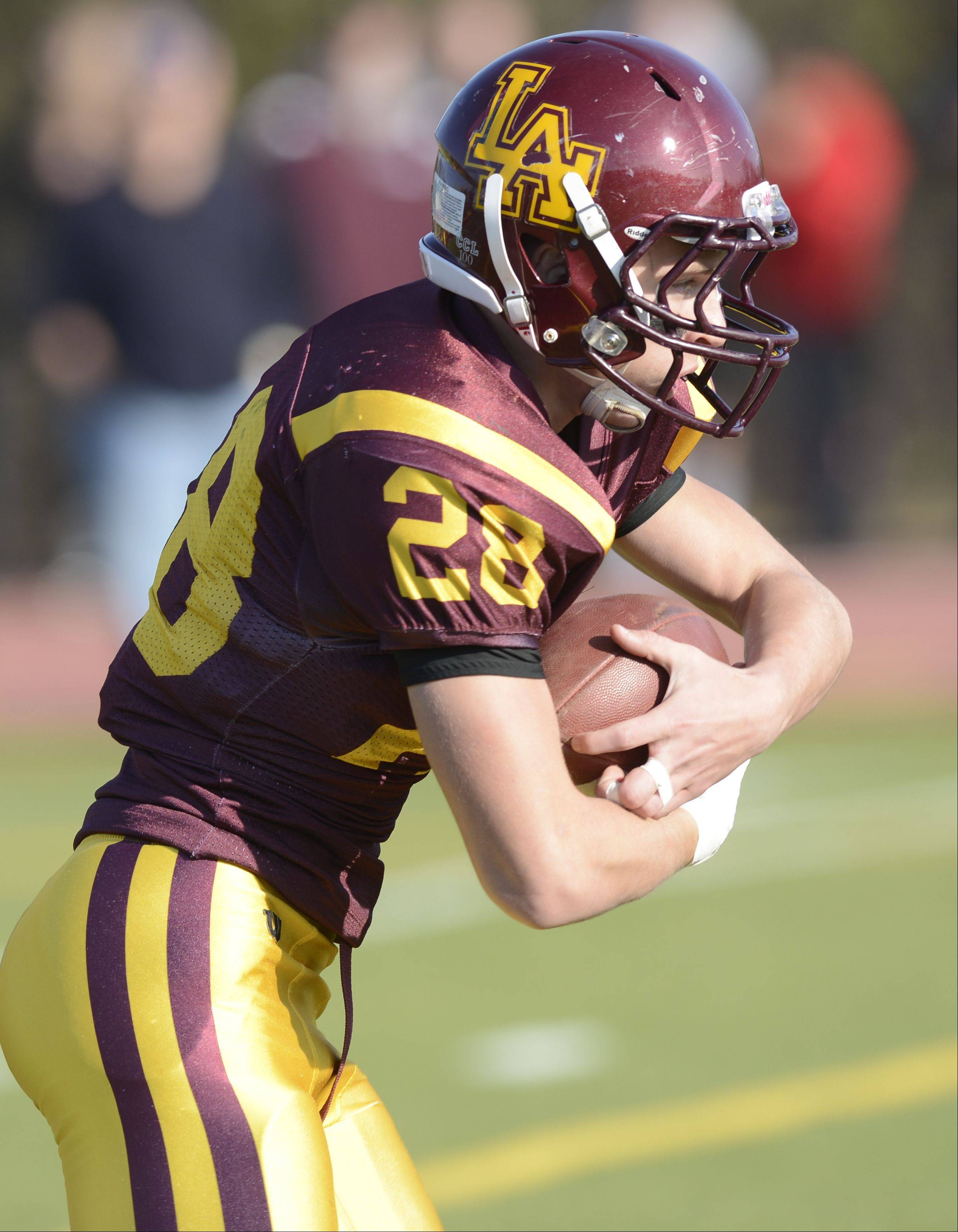 Loyola Academy hosted Glenbard North Saturday afternoon for IHSA state semifinal football action at Loyola Academy in Wilmette.