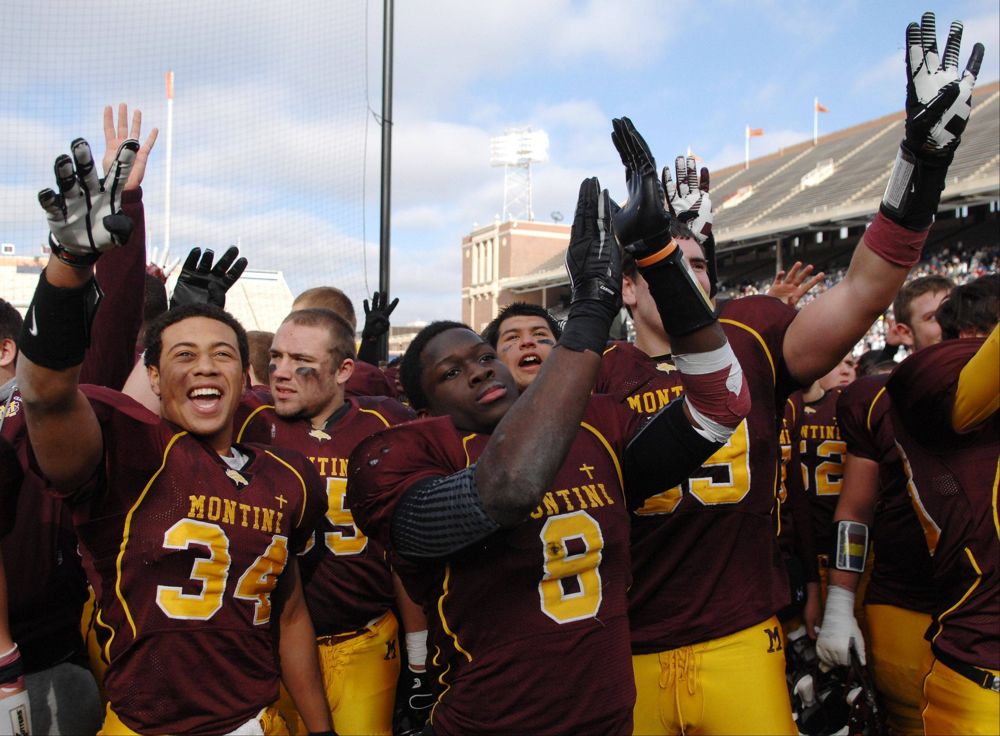 Images: Montini vs. Morris, 5A football championship