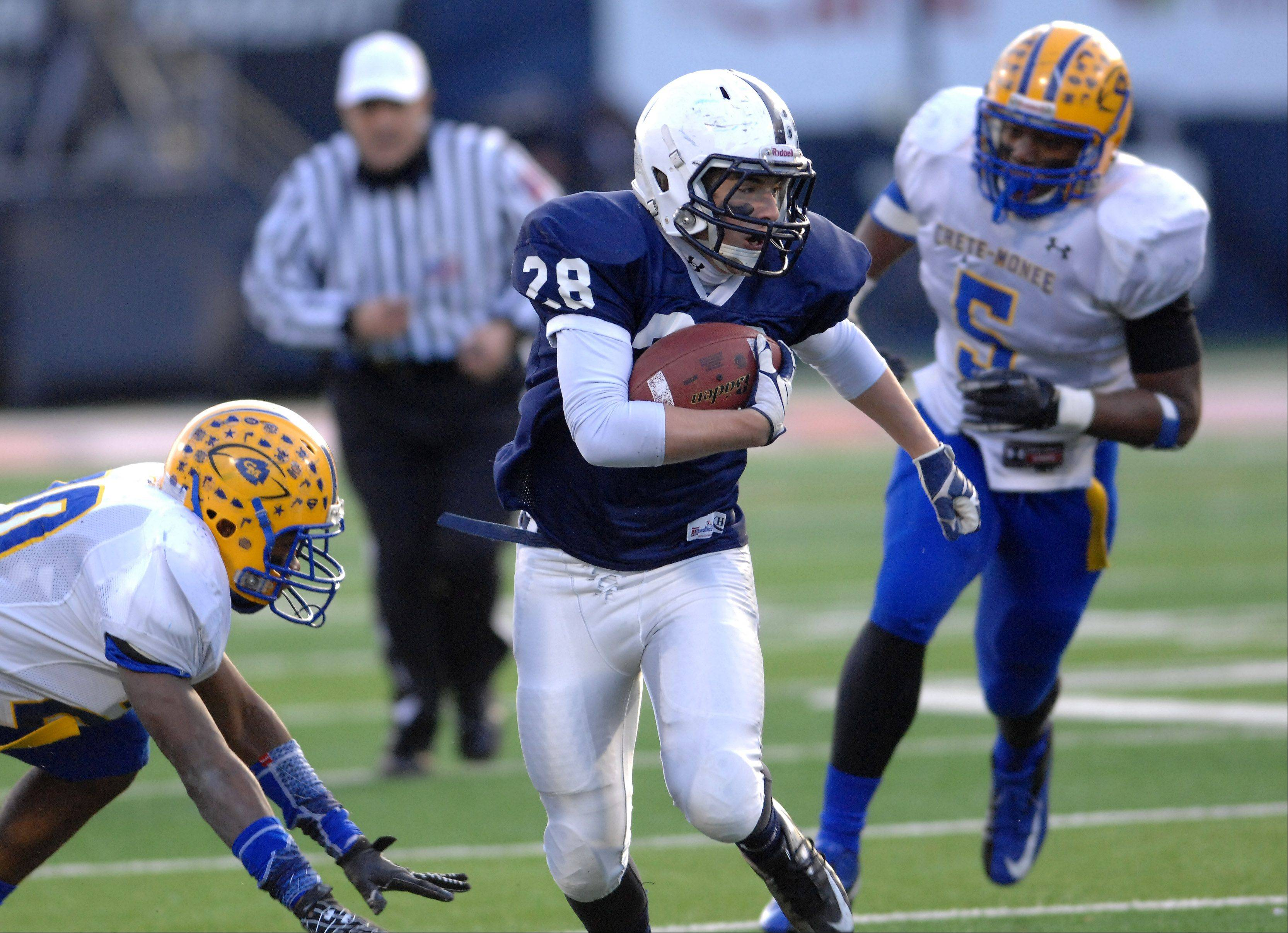 Images from the 6A state title game between Cary-Grove and Crete-Monee Saturday in Champaign.