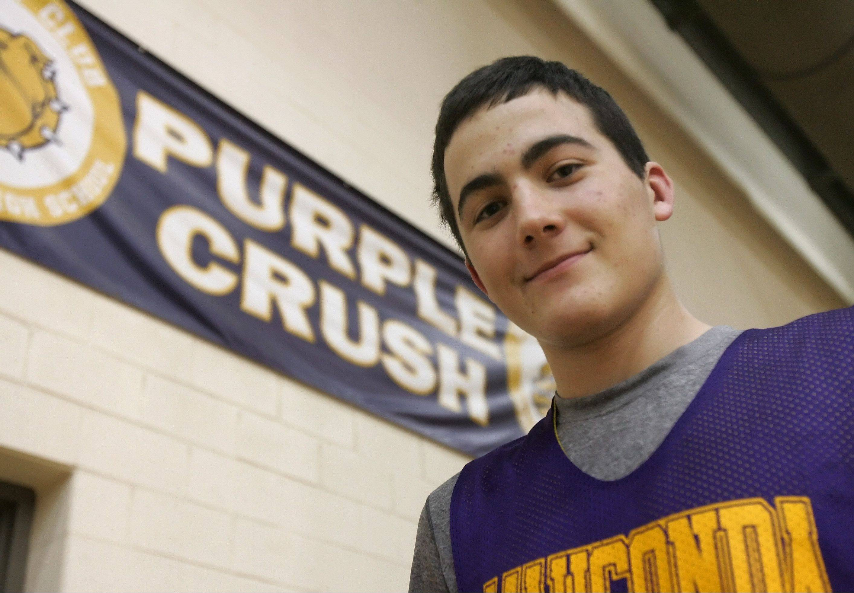 Wauconda's Austin Swenson will calculate his college decision mainly based on the quality of the school's engineering program.