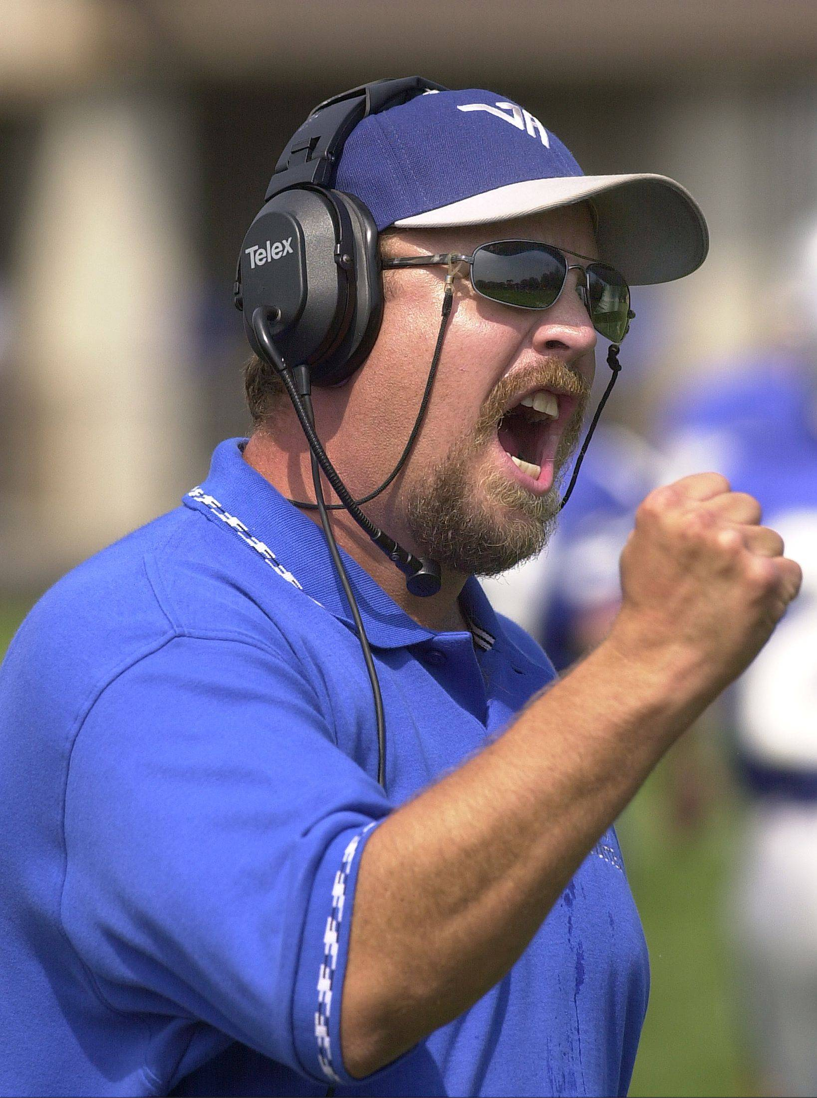 Tony Monken is out as Vernon Hills' football head coach in order to fully participate in his son Anthony's senior year as a player.