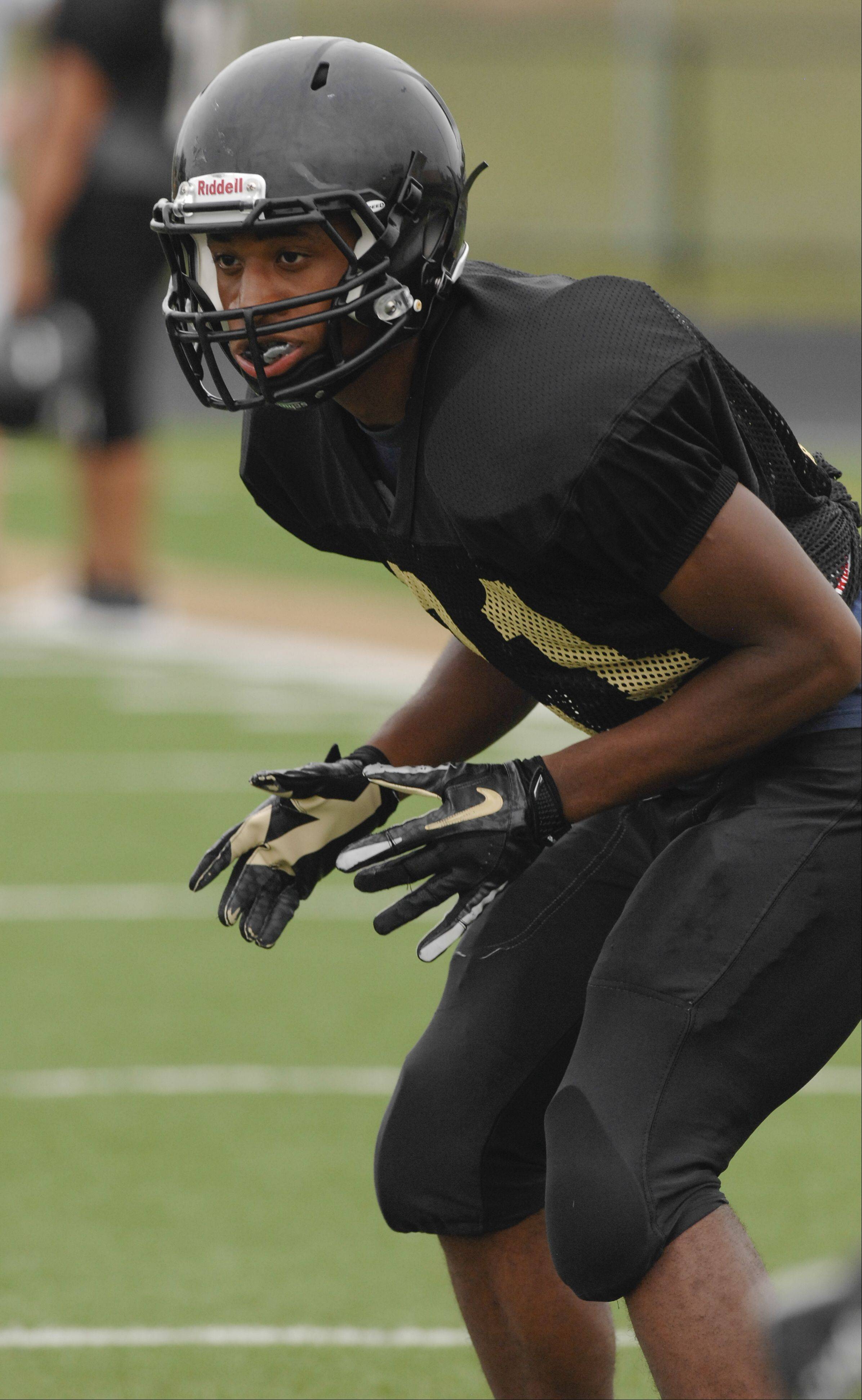 Glenbard North's Juston Jackson is the reigning Gatorade Player of the Year in Illinois.