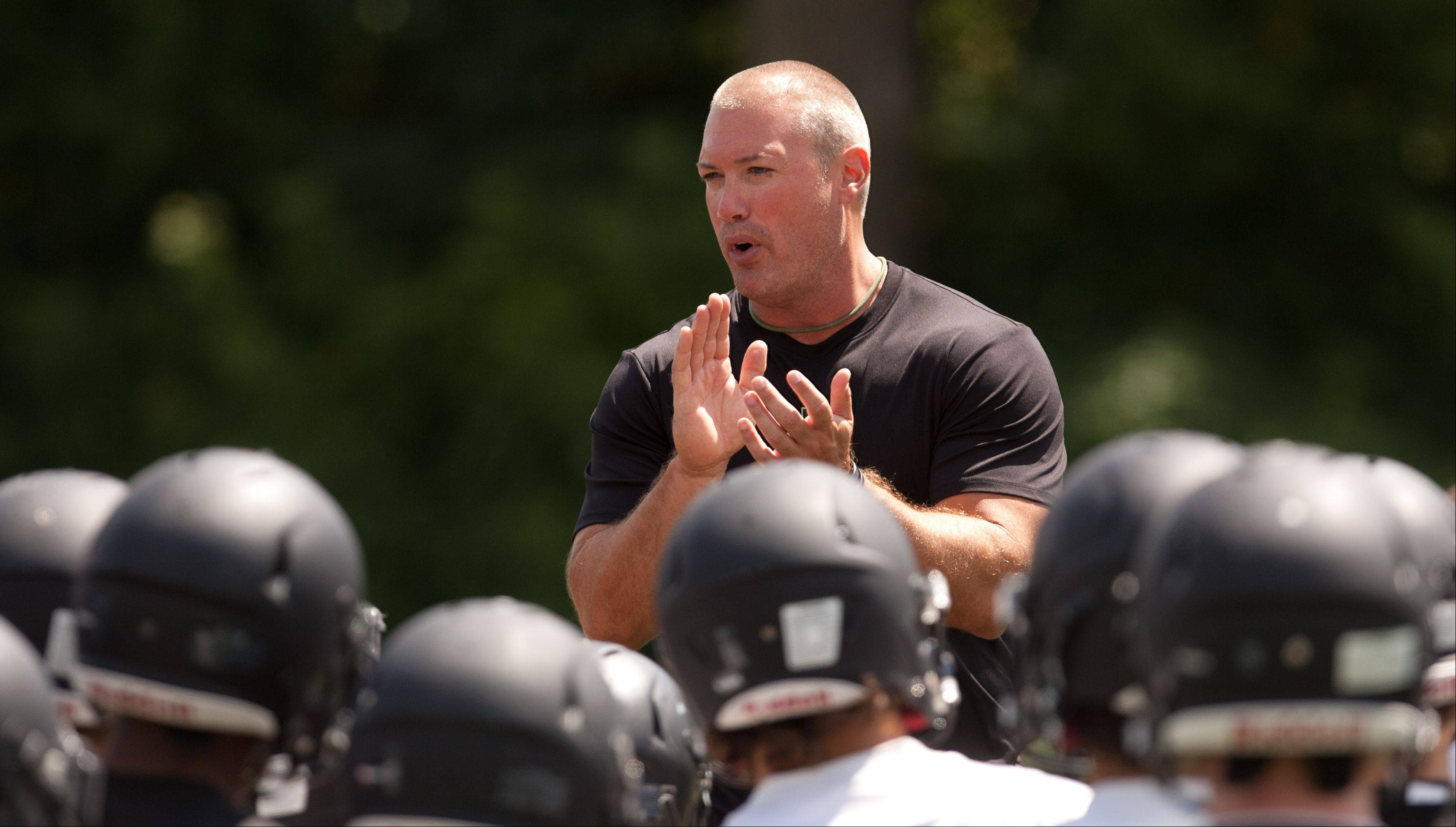 Coach Chad Hetlet's Glenbard West program, the Class 7A defending state champ, is the top-ranked team in the Daily Herald's preseason football rankings.