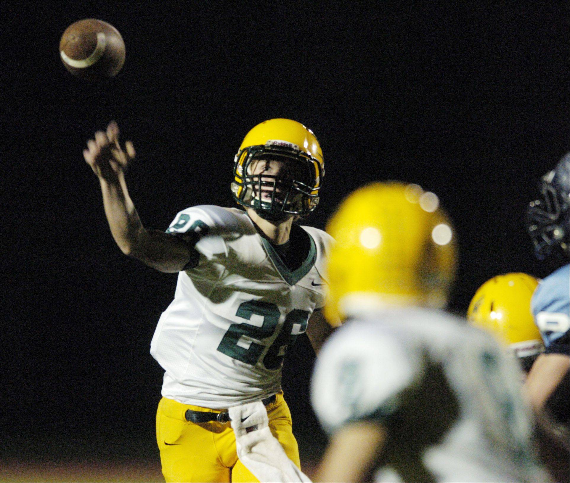 Quarterback Adam O'Malley brings a wealth of experience to the starting lineup for Elk Grove.