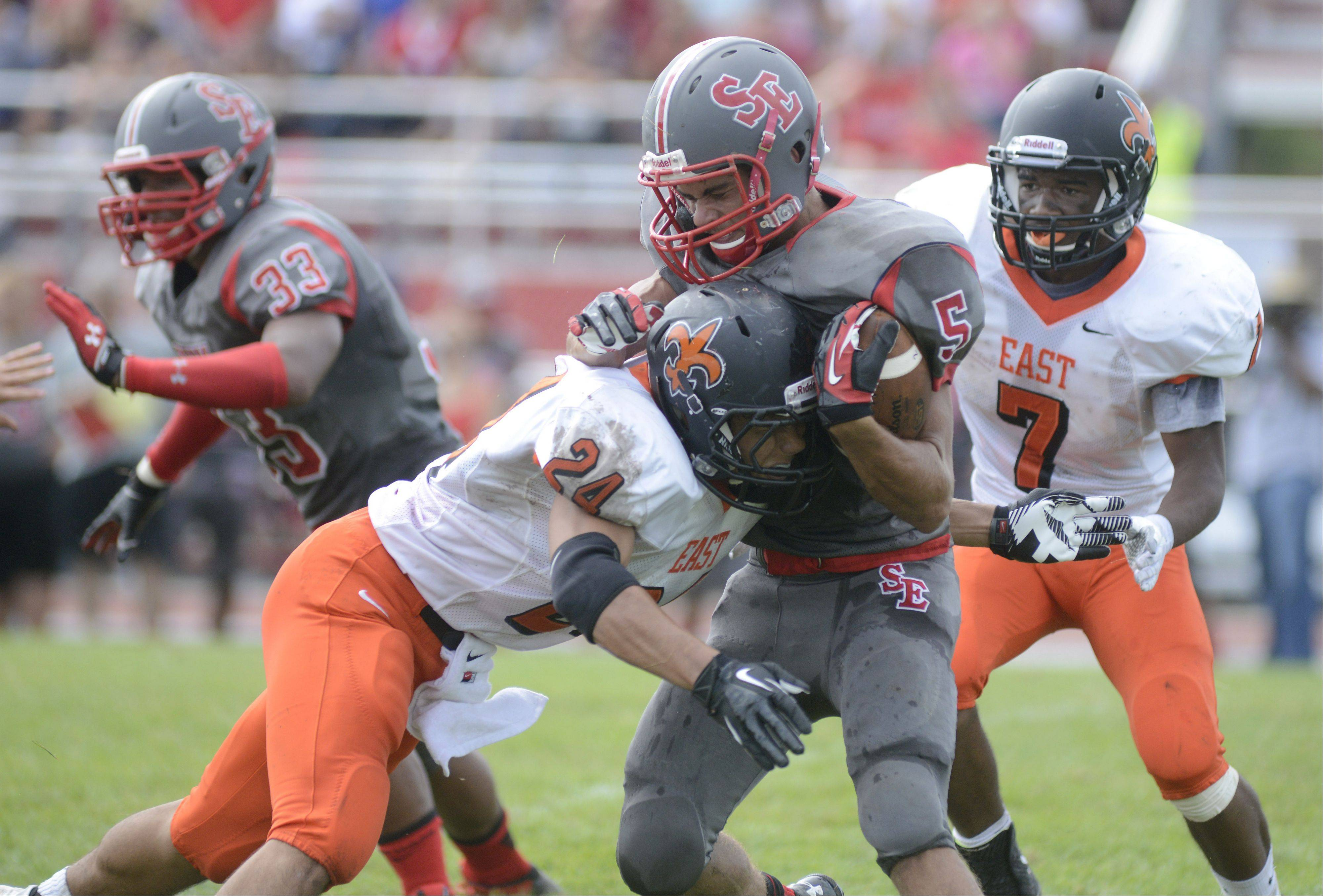 Images: South Elgin vs. St. Charles East football