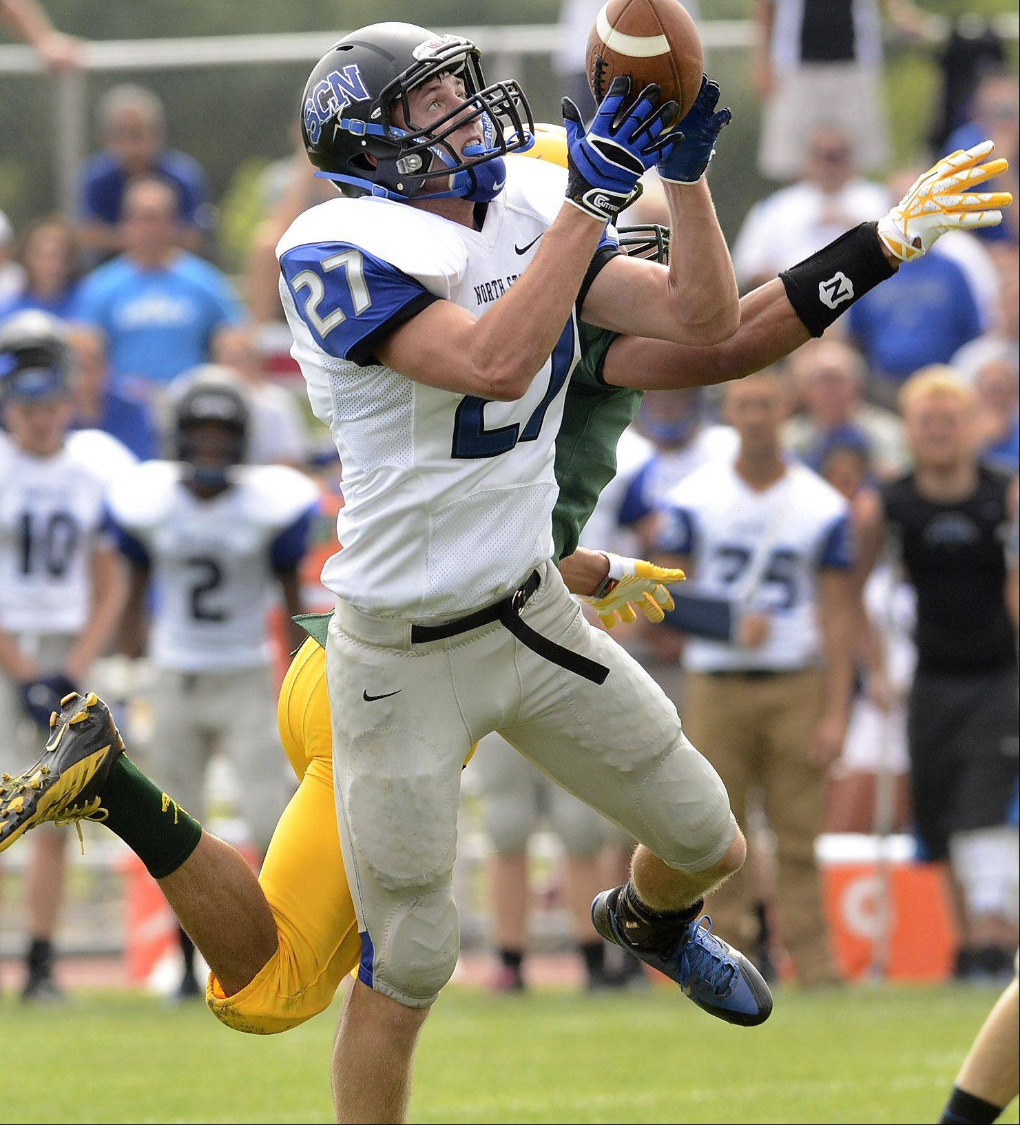 Week -1- Photos from the St. Charles North at Elk Grove football game on Saturday, Aug. 31.