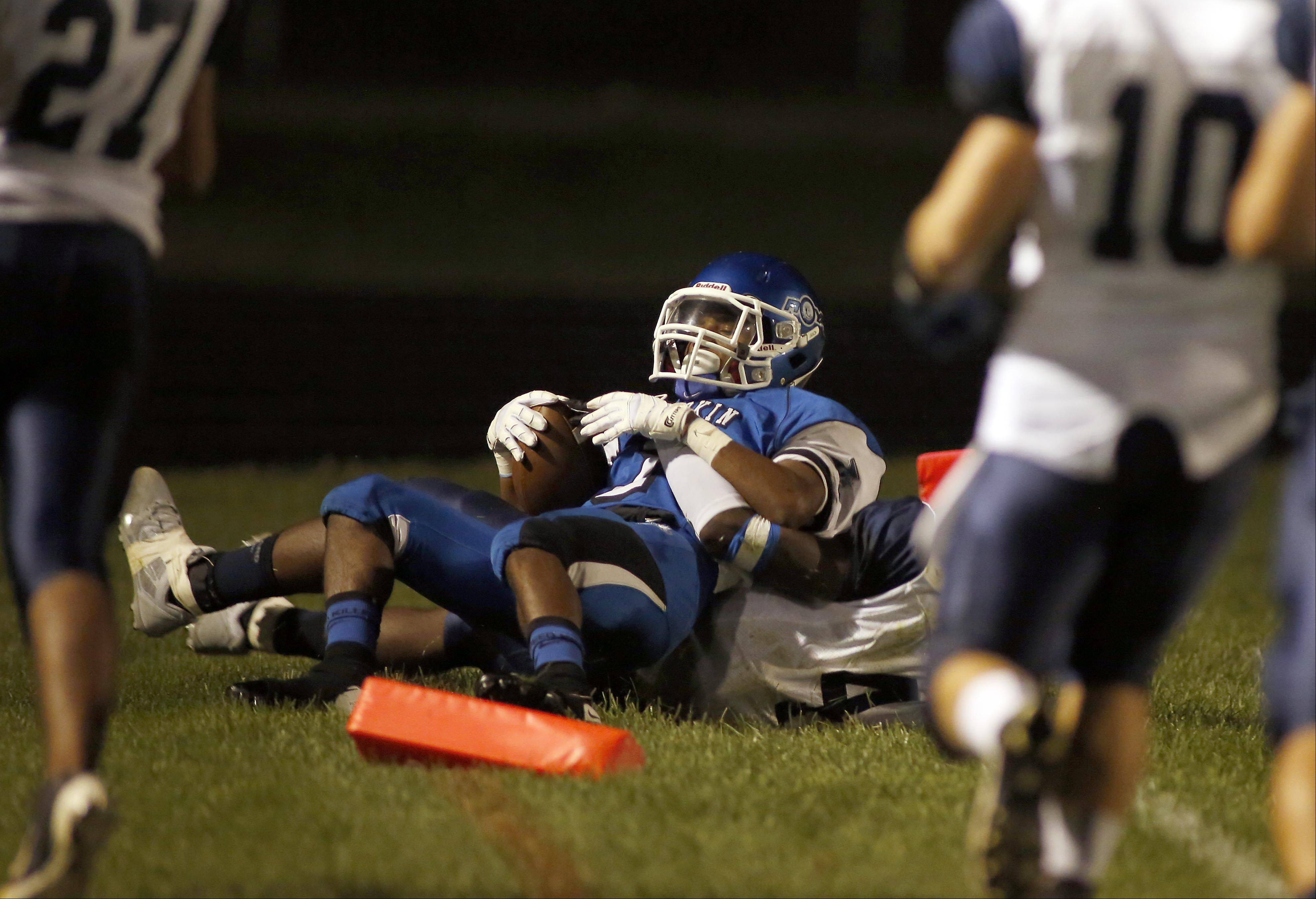 Images: West Chicago vs. Larkin football
