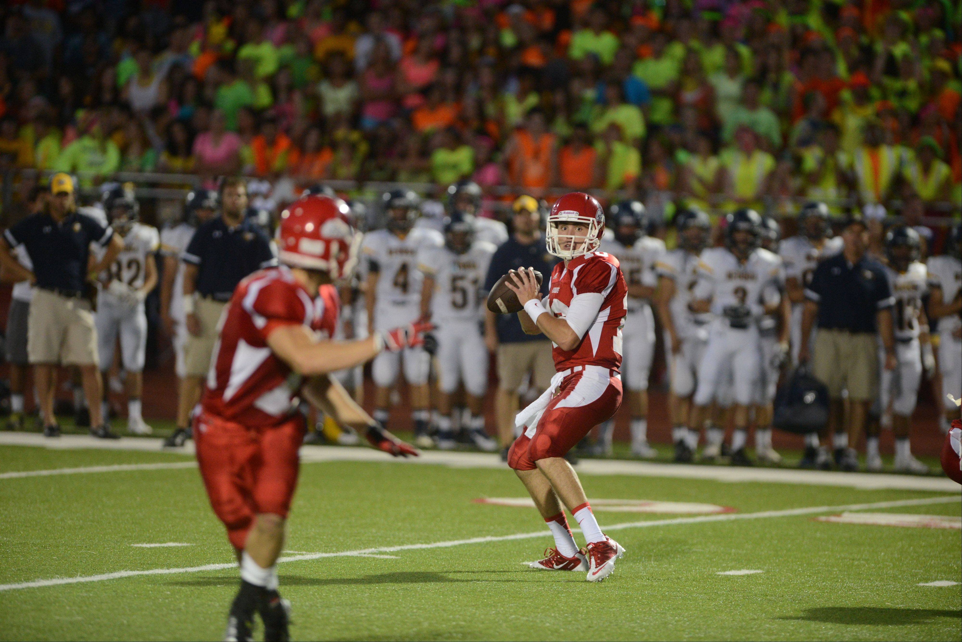 Week-2- Photos from the Neuqua Valley at Naperville Central football game on Friday, Sept. 6.