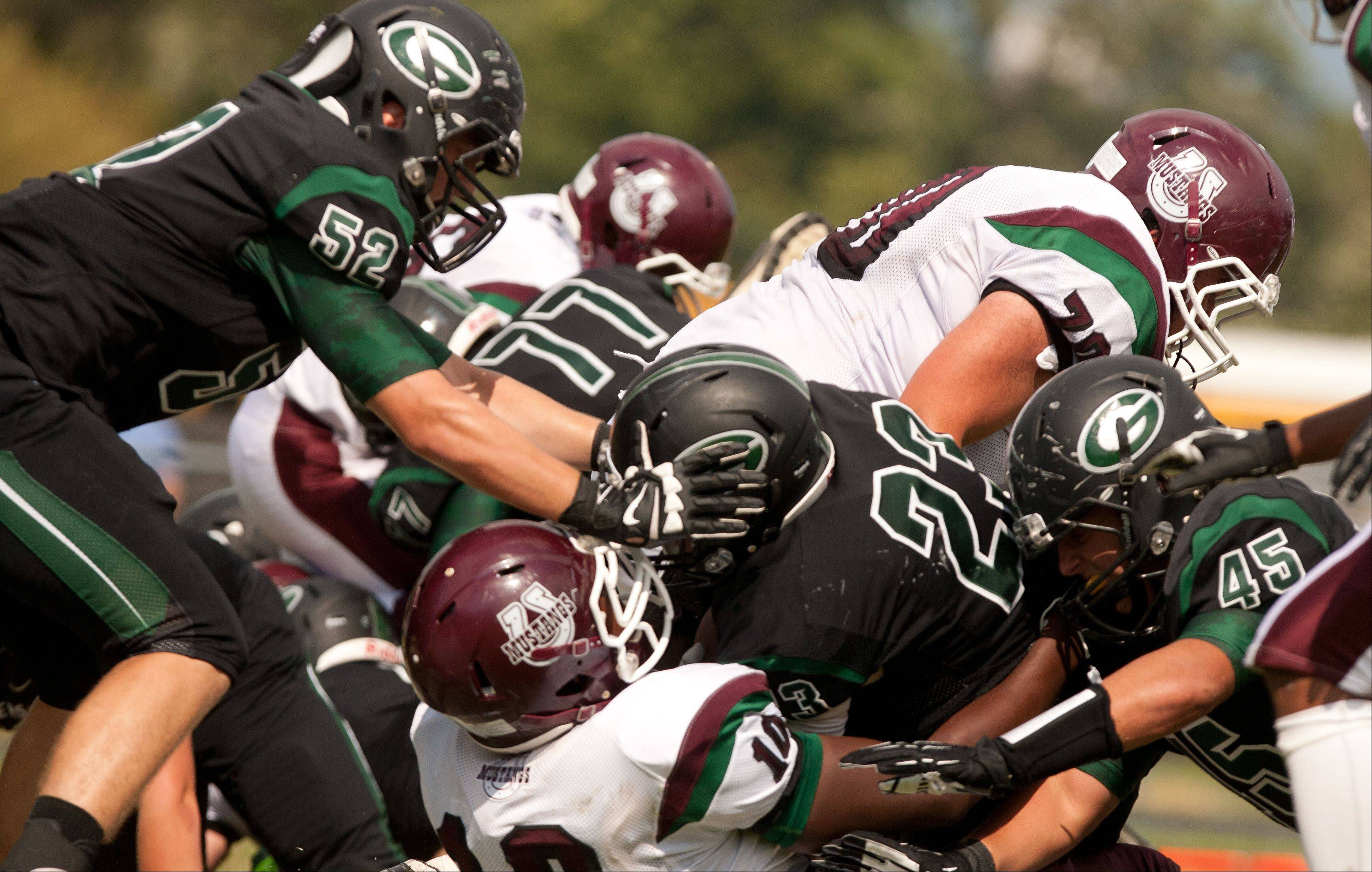 Images: Glenbard West vs. Morton football