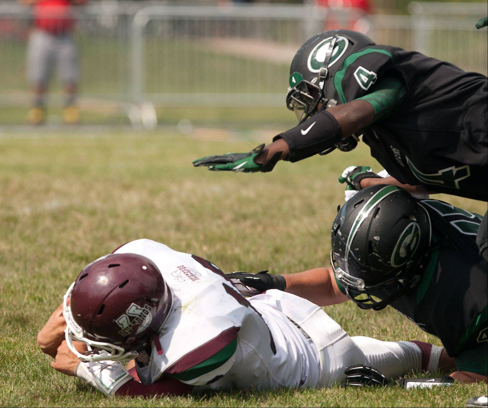 Week-2- Photos from the Morton at Glenbard West football game on Saturday, Sept. 7.