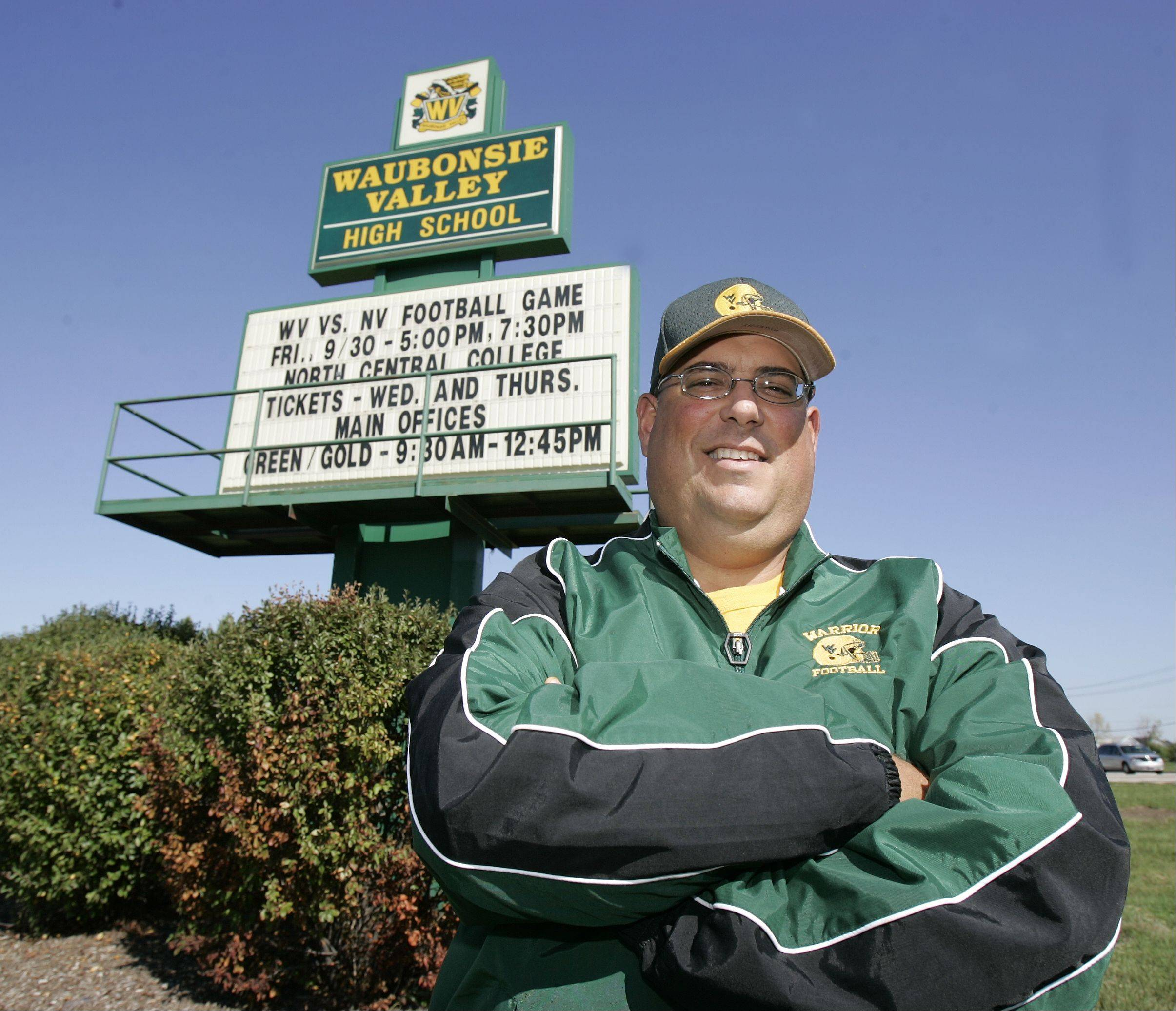 Waubonsie Valley Head football coach Paul Murphy. Lee photo