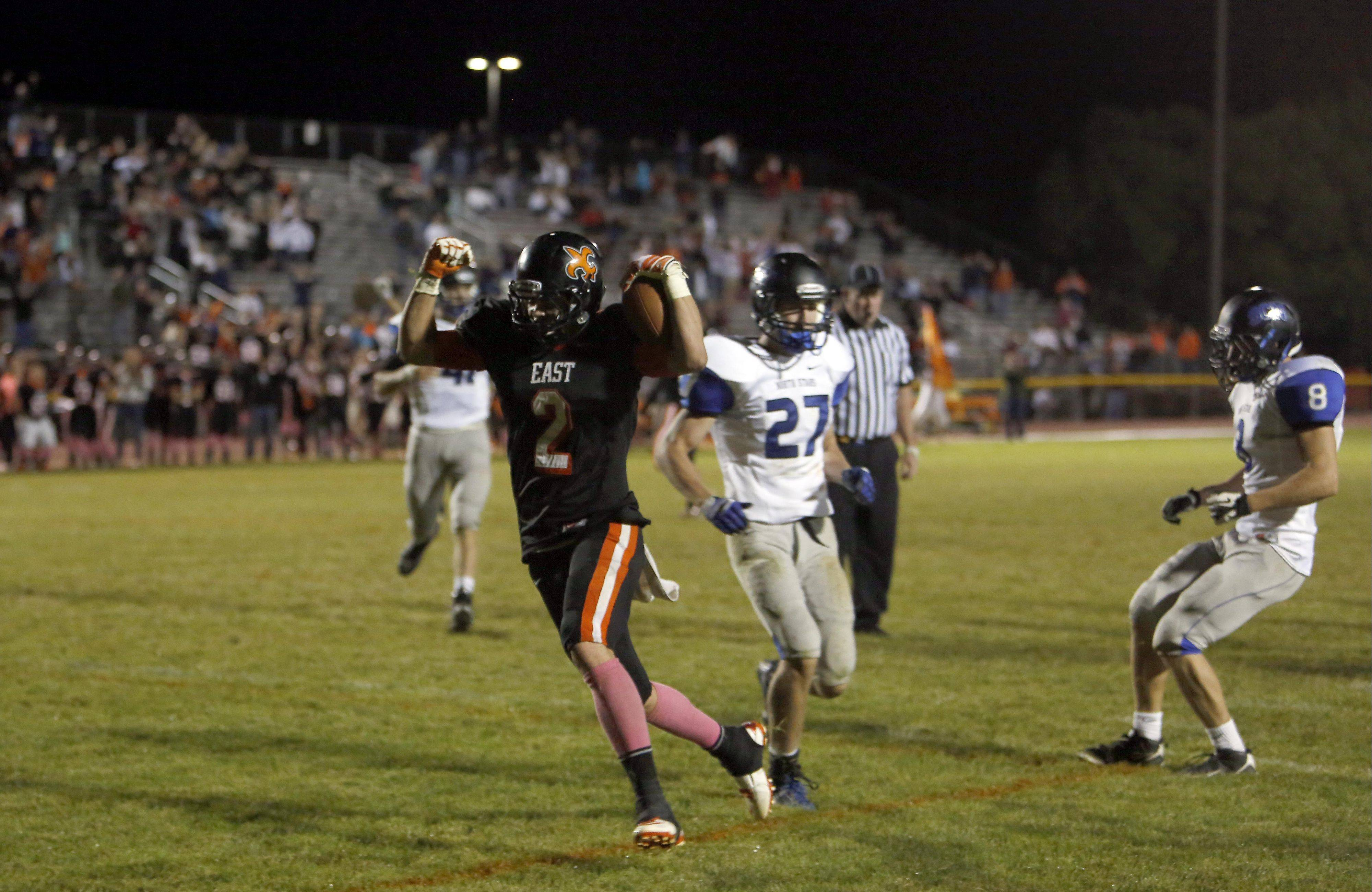 St. Charles East rallies for OT win