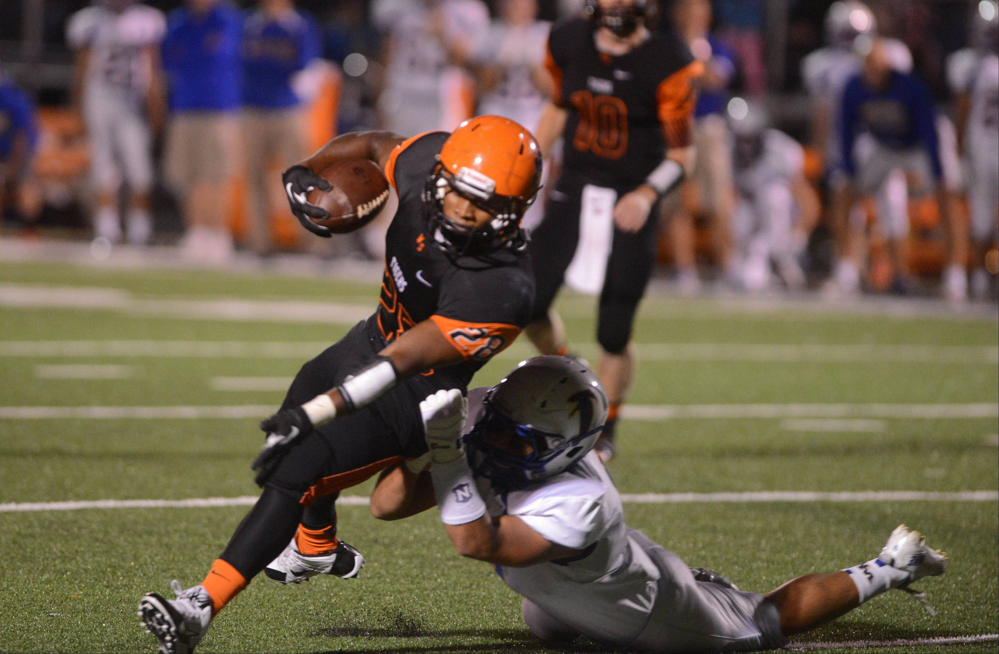 Images: Wheaton North vs. Wheaton Warrenville South football