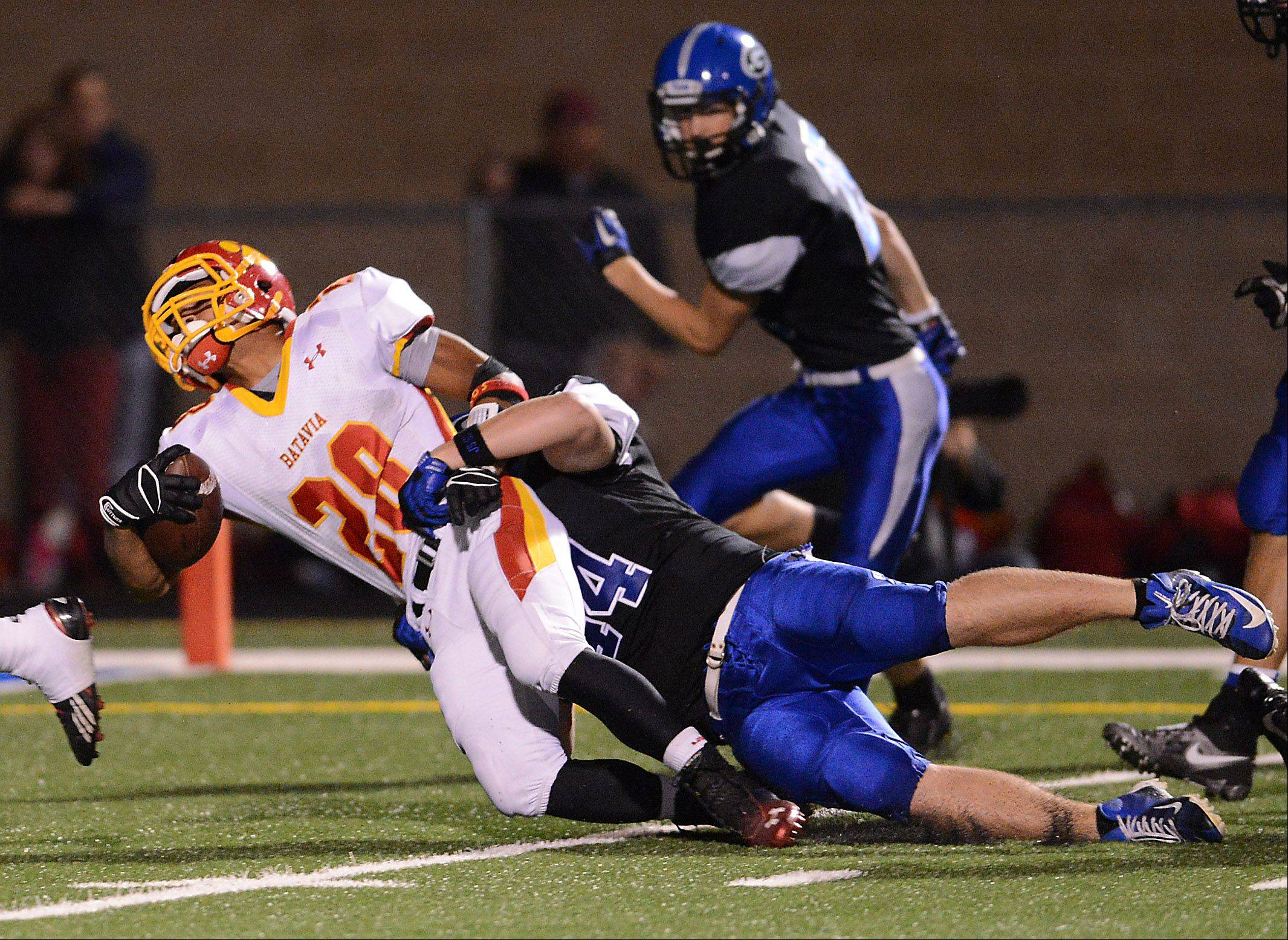 Week 3 - Images from the Geneva vs. Batavia football game Friday, September 13, 2013.