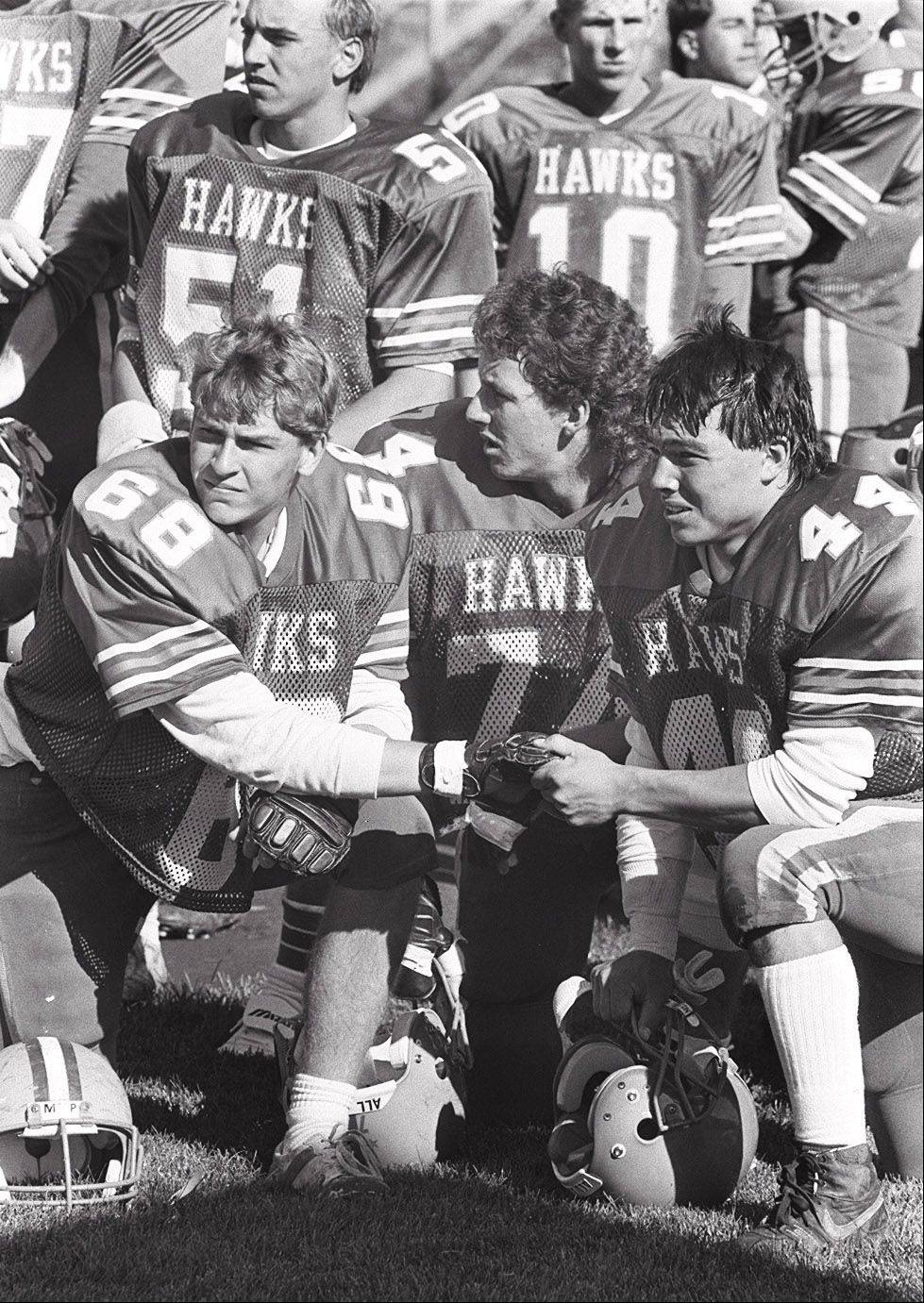 Hoffman Estates High School rallied against Elk Grove on Oct. 22, 1988, in a year in which the team didn't lose a single regular-season game. The team made it to the second round of the playoffs.