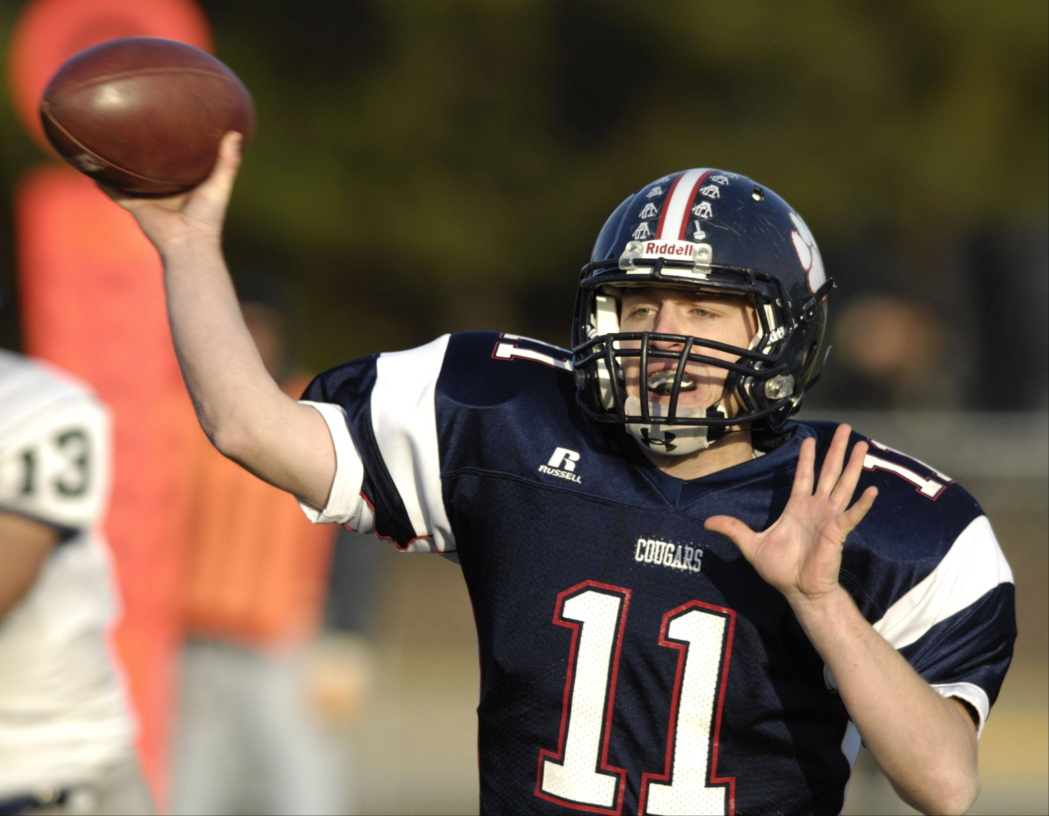 Senior quarterback Danny Modelski is helping keep the family name in Mid-Suburban League football discussions this fall.