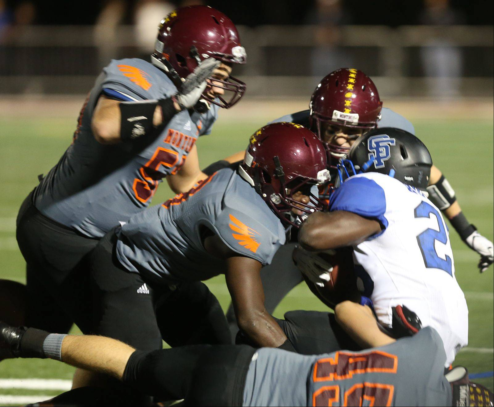 Week-4- Photos from the St. Francis at Montini football game on Friday, September 20.