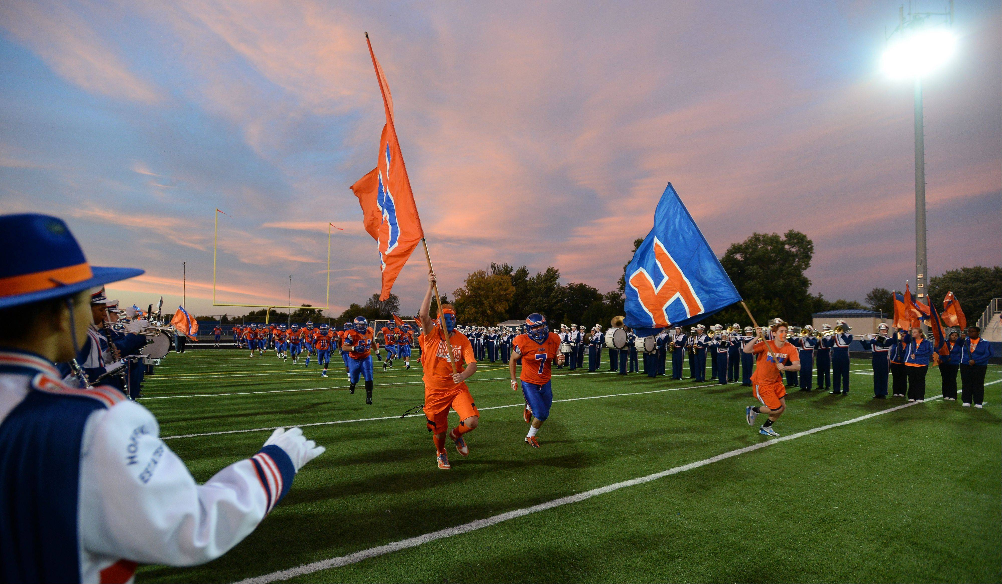Week -4- Photos from the Hoffman Estates vs. Wheeling football game on Friday, September 20th, in Hoffman Estates