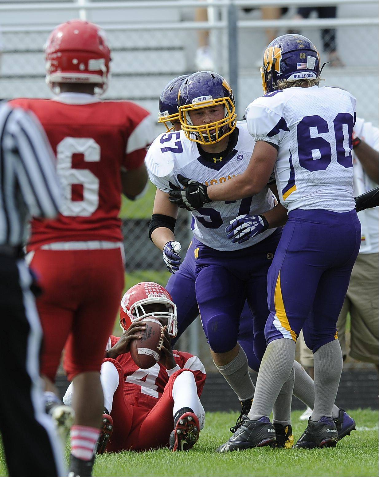 Week -4- Photos from the Wauconda at North Chicago football game on Saturday, Sept. 21.