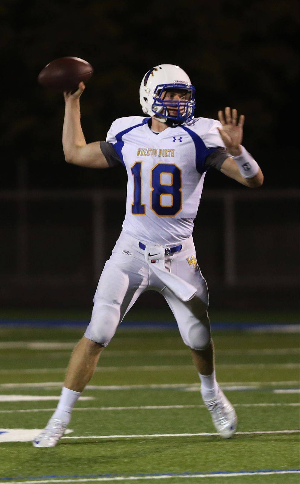Wheaton North's Thorson comes through in two dimensions