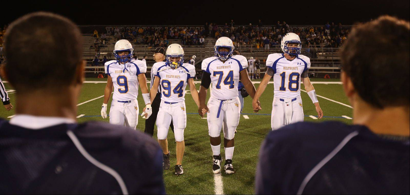 Week-5- Photos from the Wheaton North at Lake Park football game on Friday, September 27.