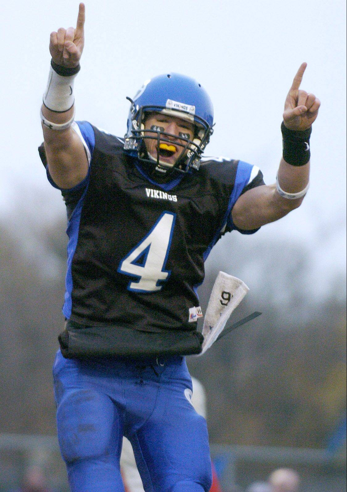This is Shaun Ratay in his days as a quarterback leading Geneva to a playoff win over Hubbard in 2006. On Friday, Ratay will return to Geneva as the offensive coordinator for St. Charles East.