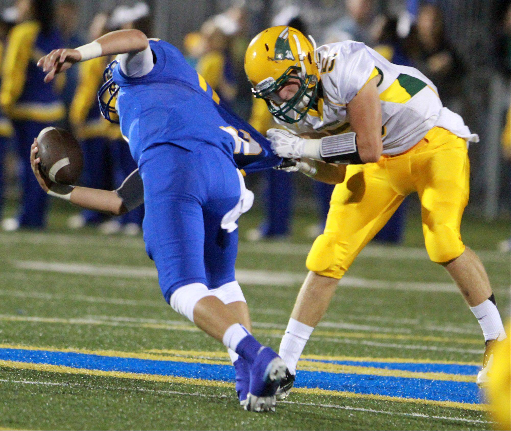 Stevenson's defense stands tall