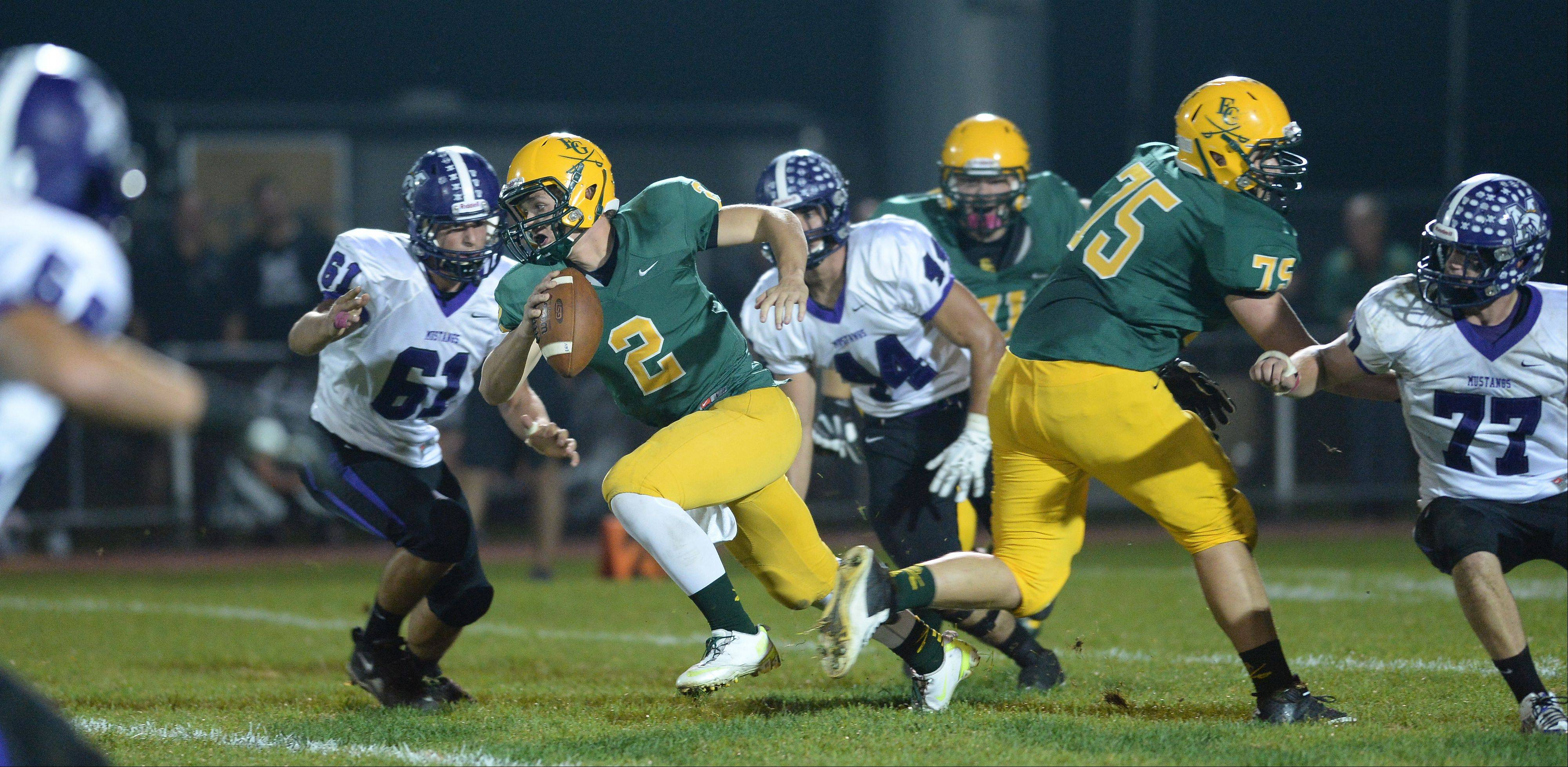 Week -6- Photos from the Elk Grove vs. Rolling Meadows football game on Friday, October 4th, in Elk Grove.