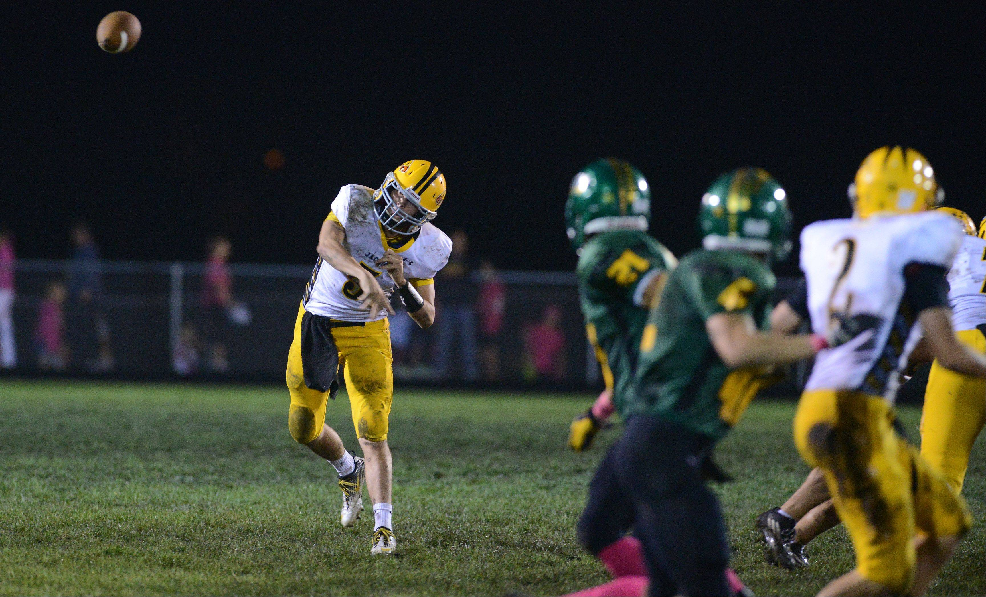 Week six - Images from the Jacobs vs. Crystal Lake South football game Friday, October 4, 2013.