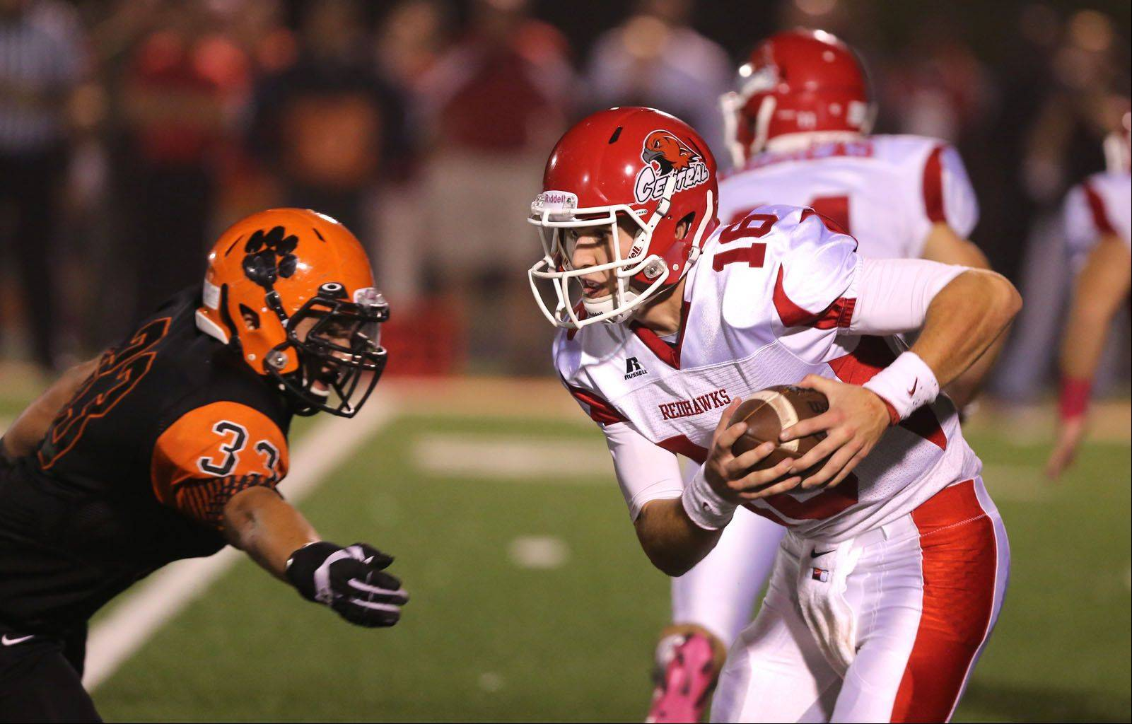 Week-5- Photos from the Naperville Central at Wheaton Warrenville South football game on Friday, October 4.
