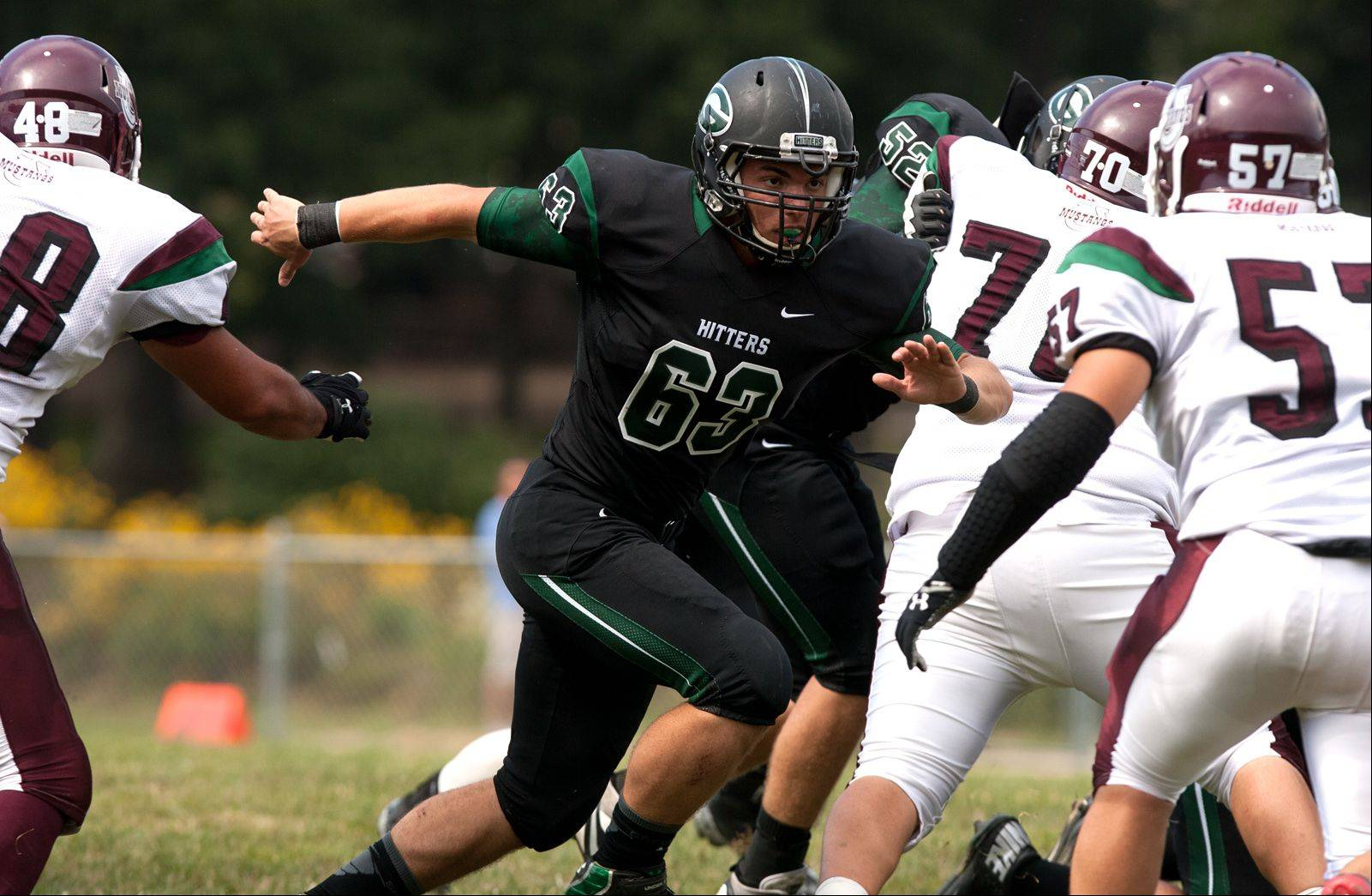 Daniel White/dwhite@dailyherald.com � Week-2- Photos from the Morton at Glenbard West football game on Saturday, Sept. 7.